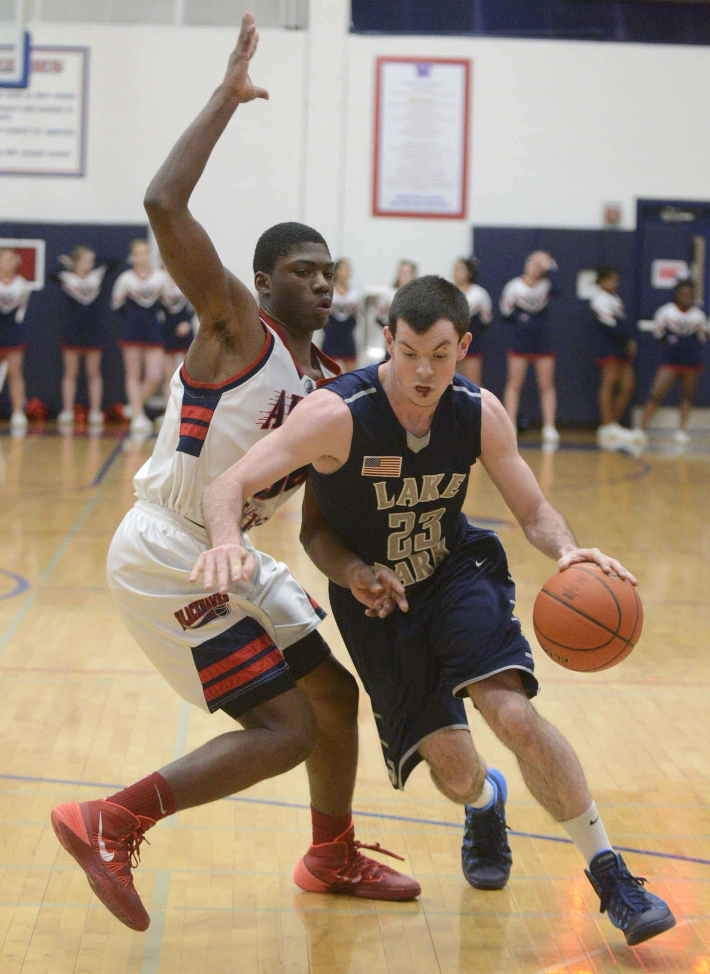 Images from the Lake Park vs. West Aurora boys basketball game Wednesday, February 26, 2014.