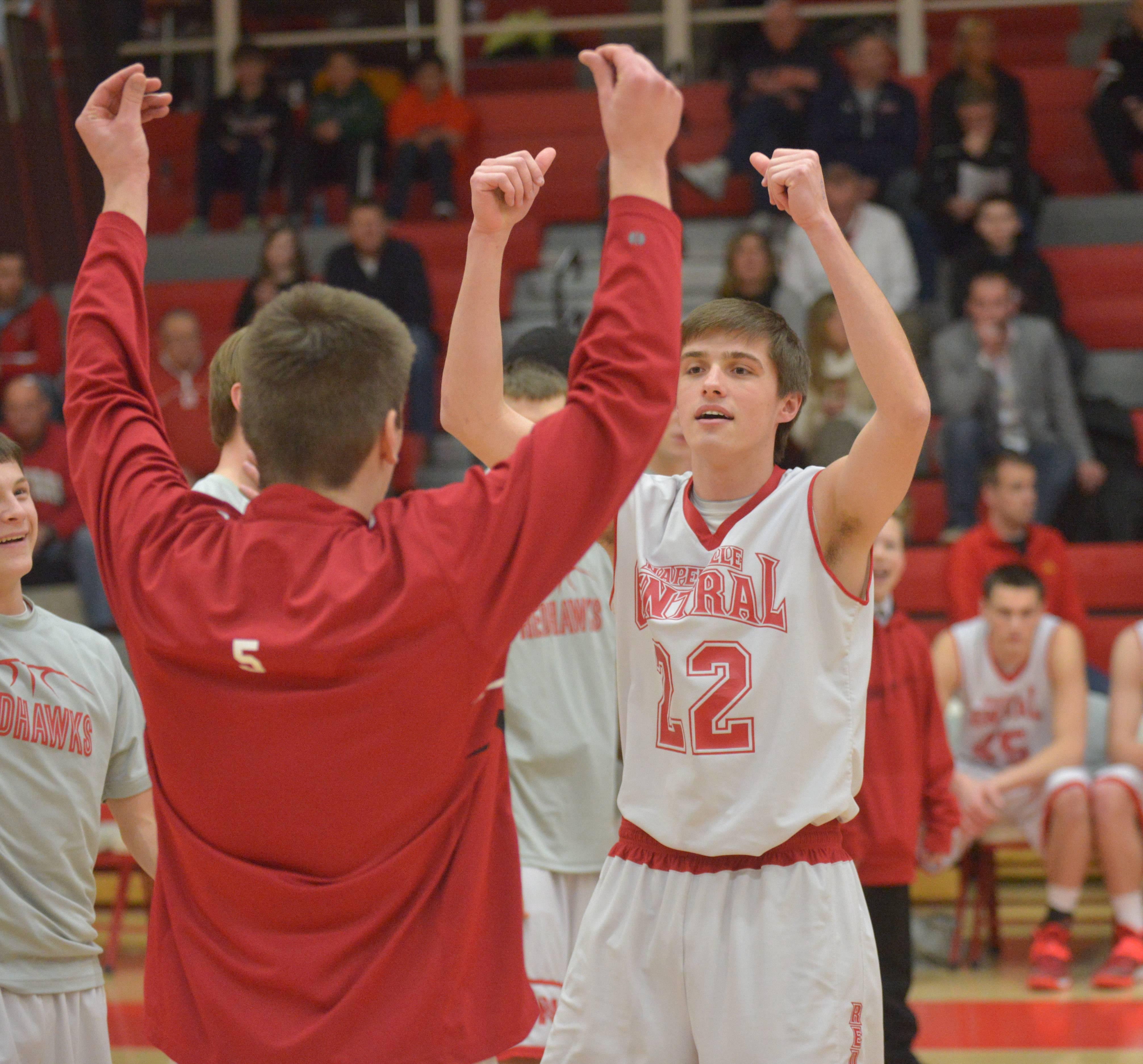 Images from the Naperville Central vs. Naperville North boys basketball game on Wednesday, Feb. 26, 2014.