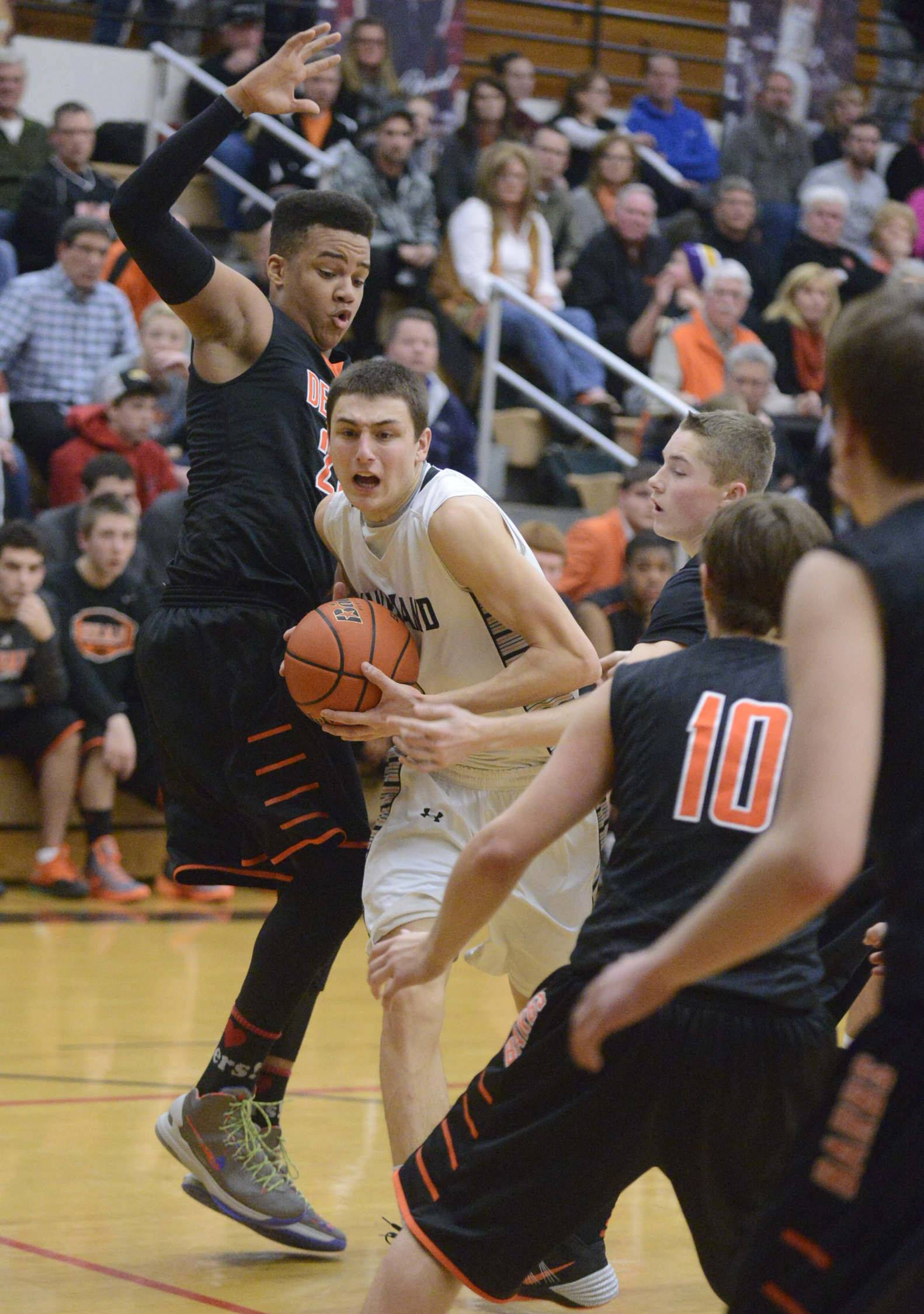 Images from the Dekalb vs. Kaneland boys basketball game Friday, February 28, 2014.