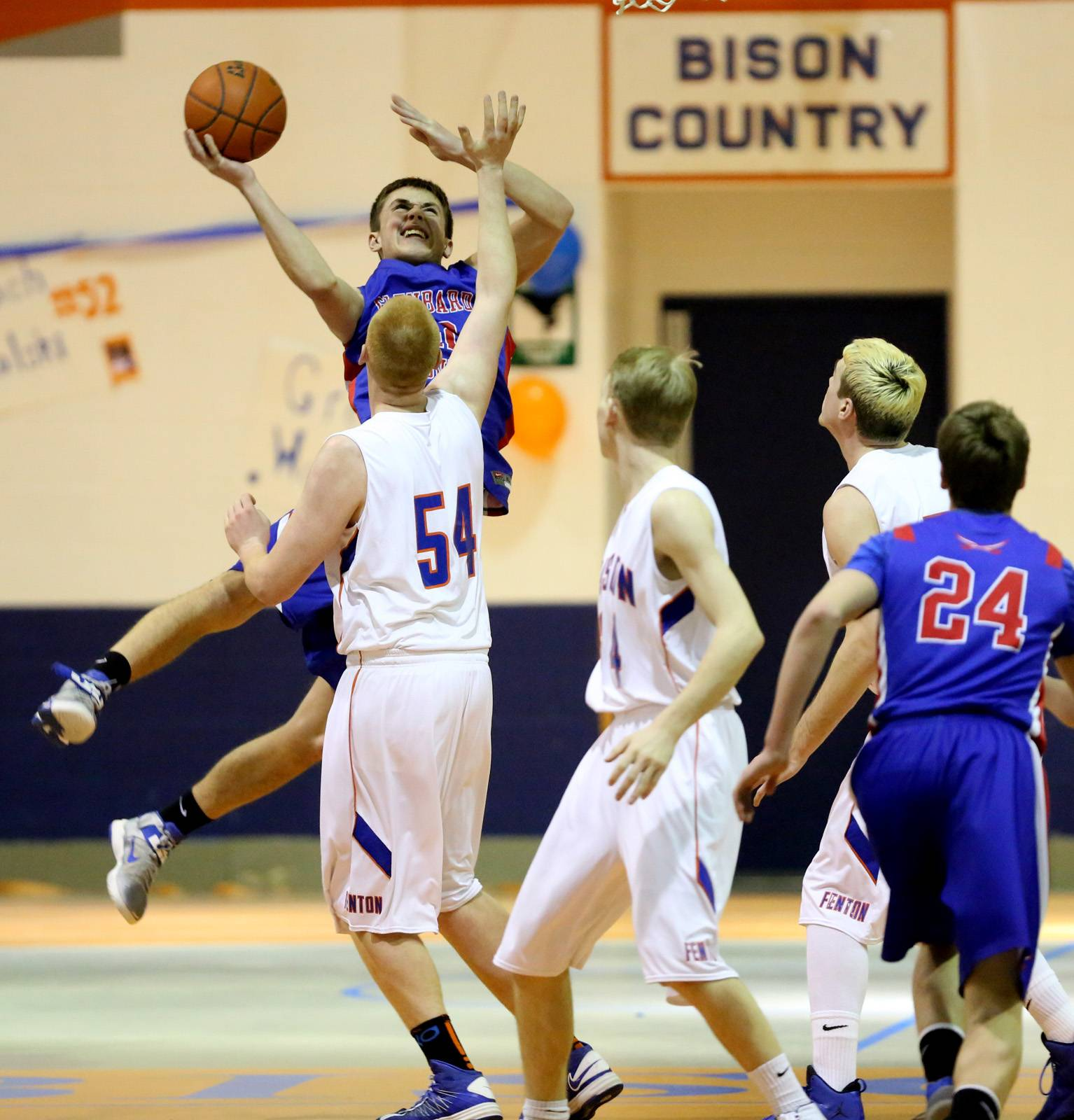 Images from the Glenbard South vs. Fenton boys basketball game on Friday, Feb. 28, 2014.