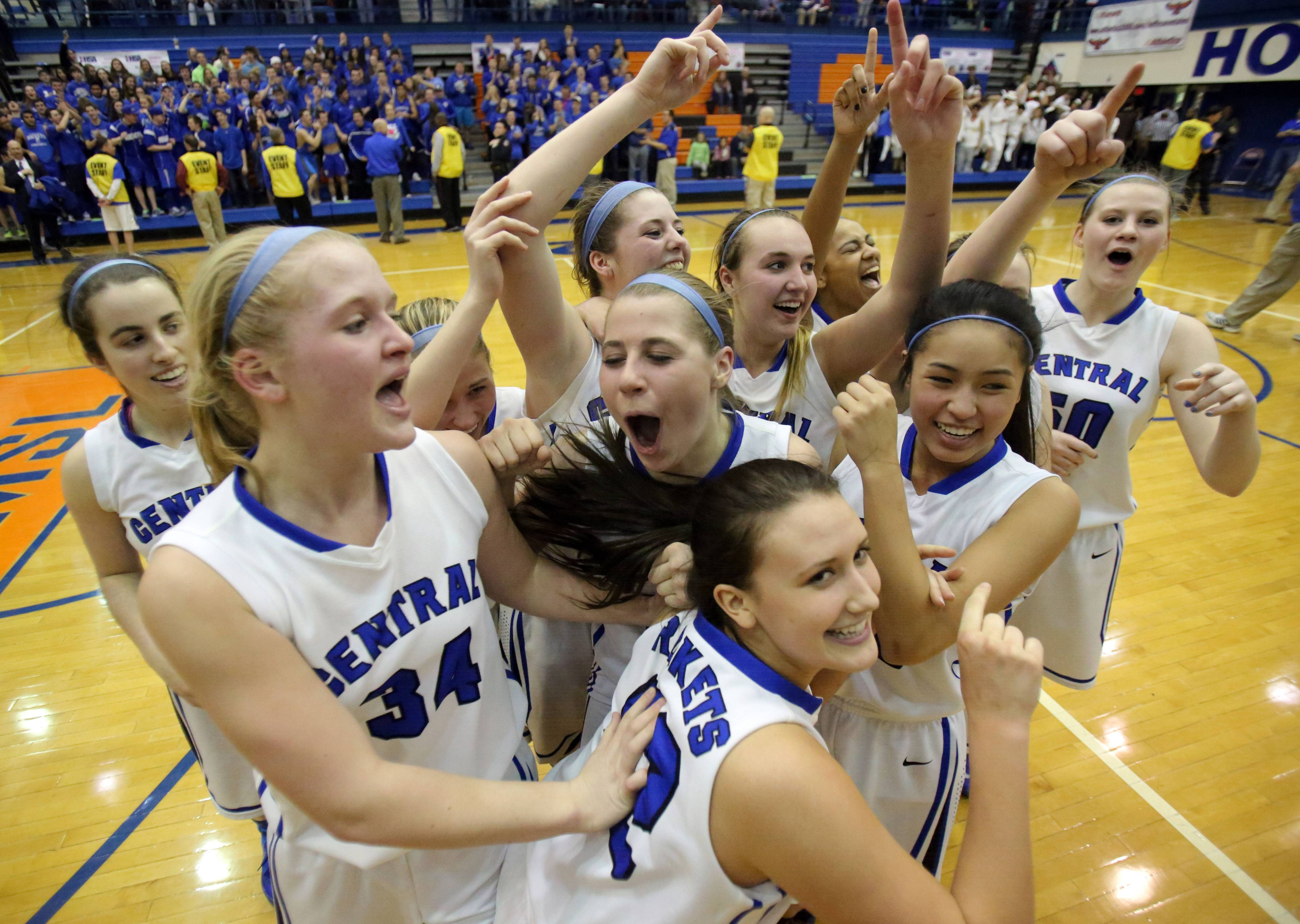 Burlington Central punches ticket downstate