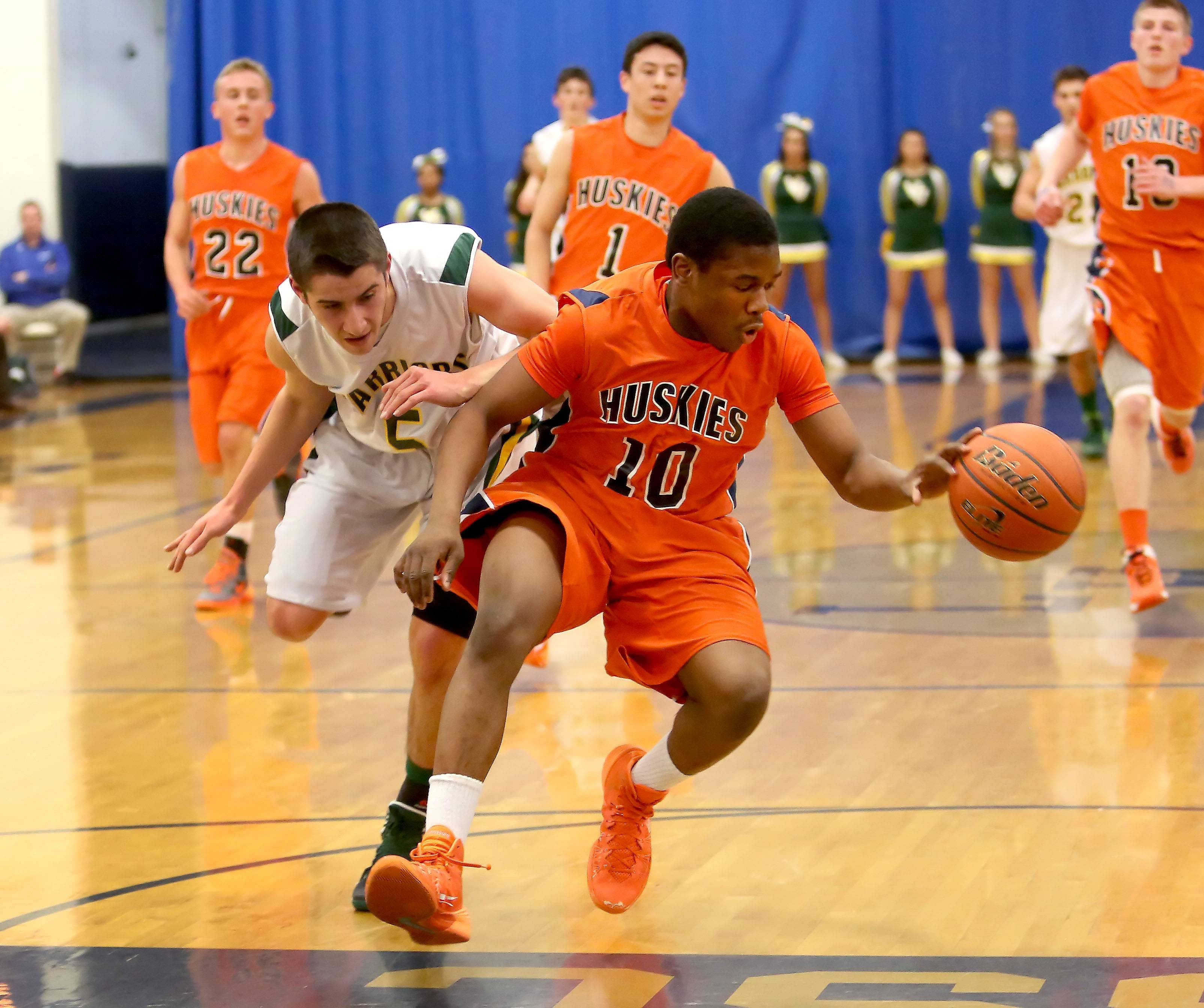 Images: Naperville North vs. Waubonsie Valley boys basketball.