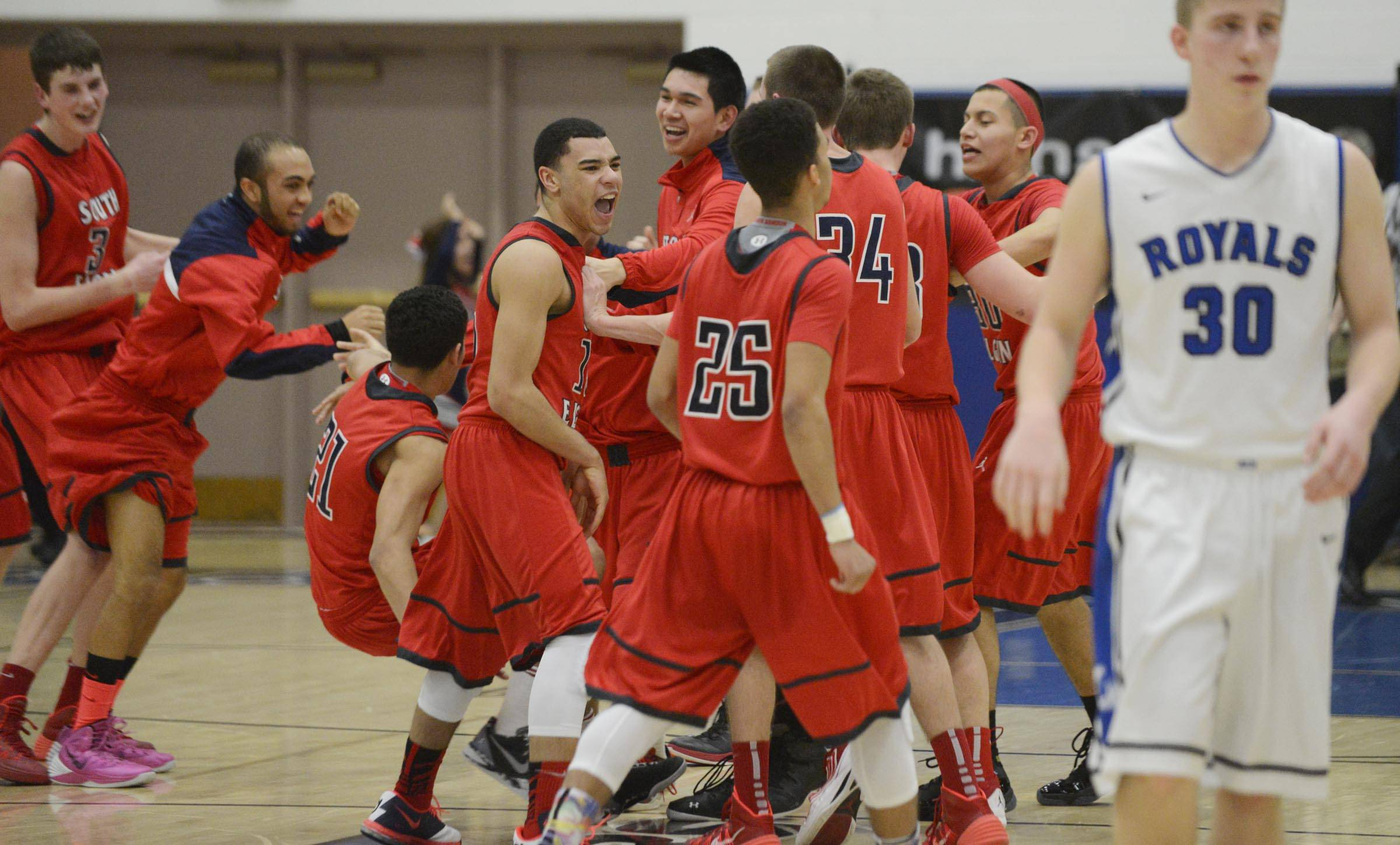 Images: Larkin vs. South Elgin boys basketball