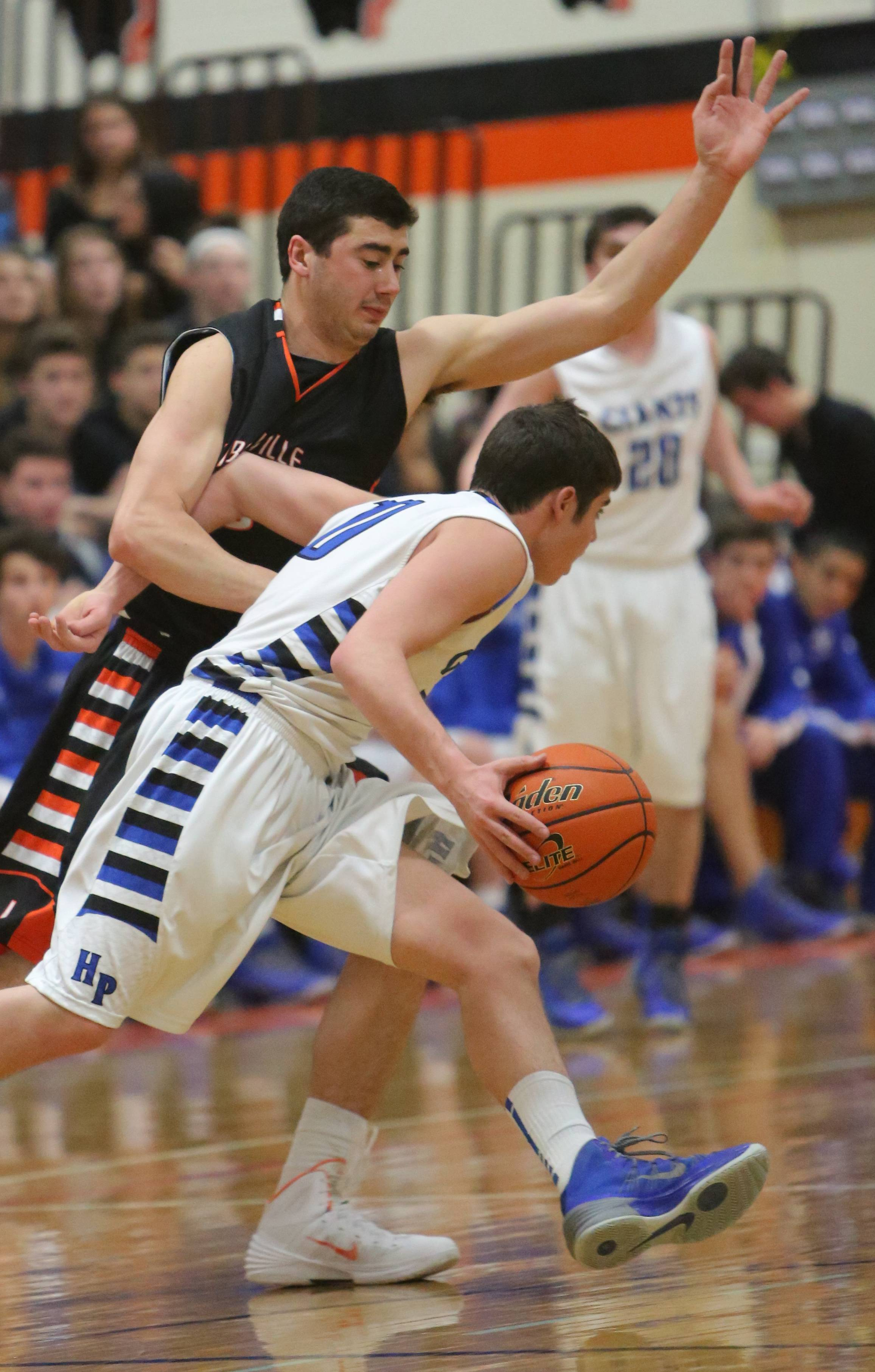Images from the Libertyville vs. Highland Park boys basketball game on Tuesday, March 4 in Libertyville.