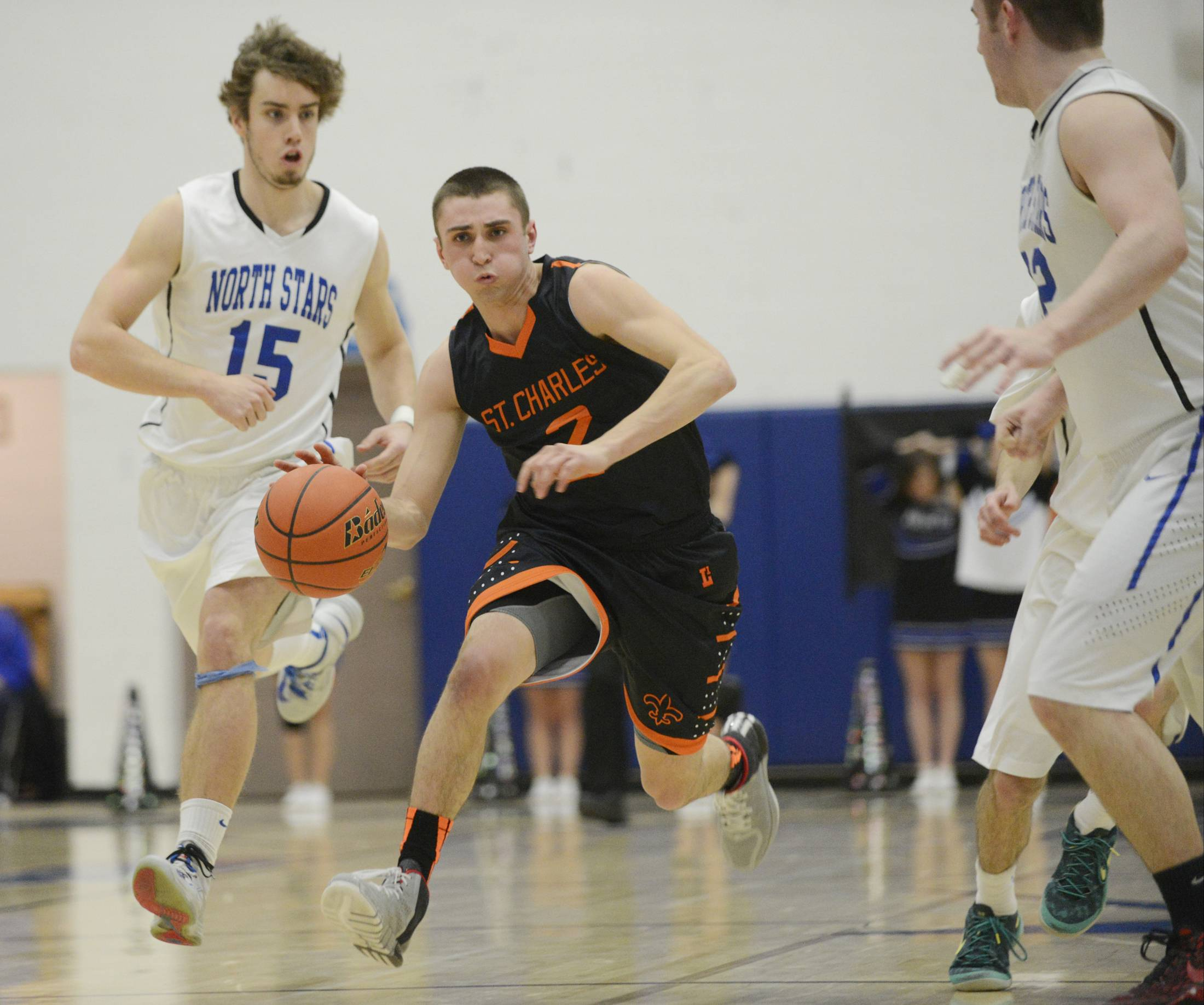 Images: St. Charles East vs. St. Charles North boys basketball