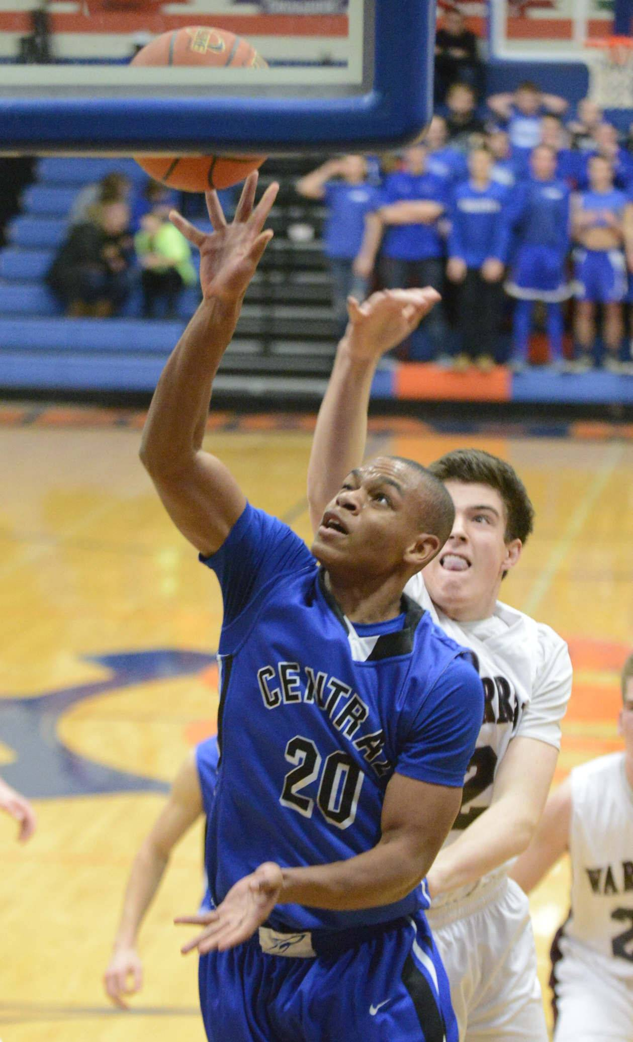 Images from the Wheaton Academy vs. Burlington Central boys Class 3A regional basketball game Wednesday, March 5, 2014.
