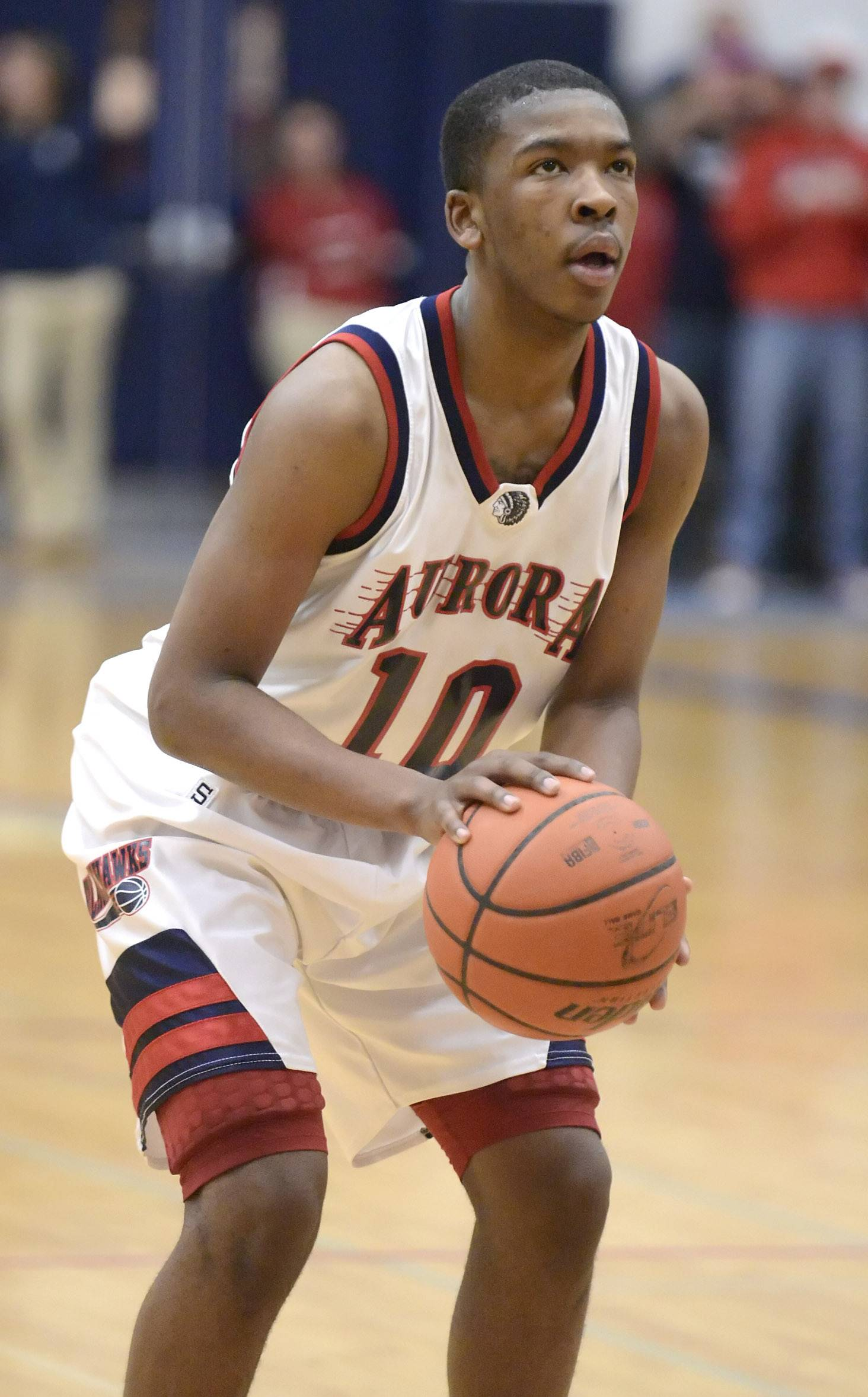 Nothing but net for West Aurora's Walker