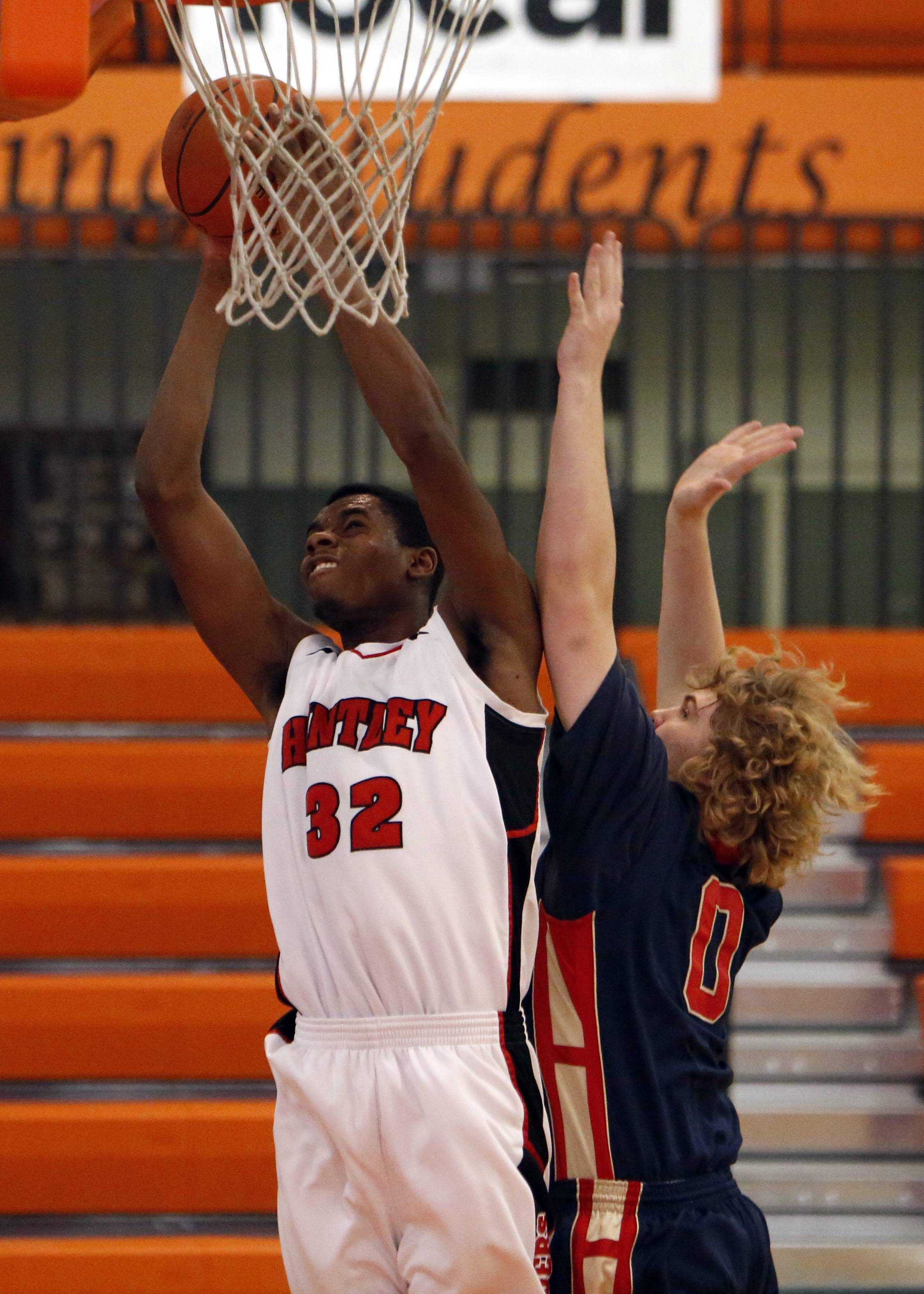 Hard work turned Huntley's Egezeke into standout