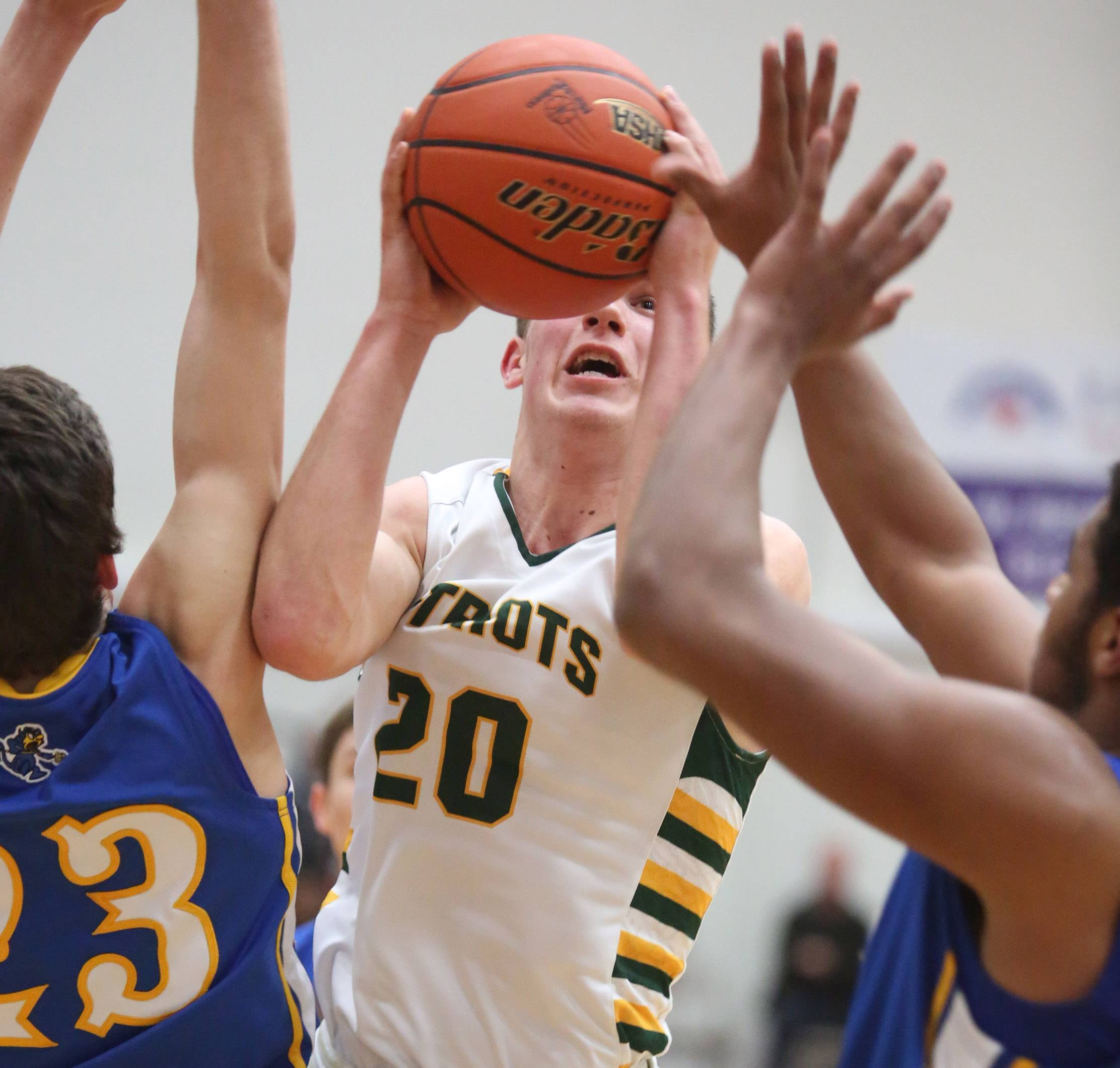 Images from the Stevenson vs. Warren boys basketball game on Friday, March 7 in McHenry.