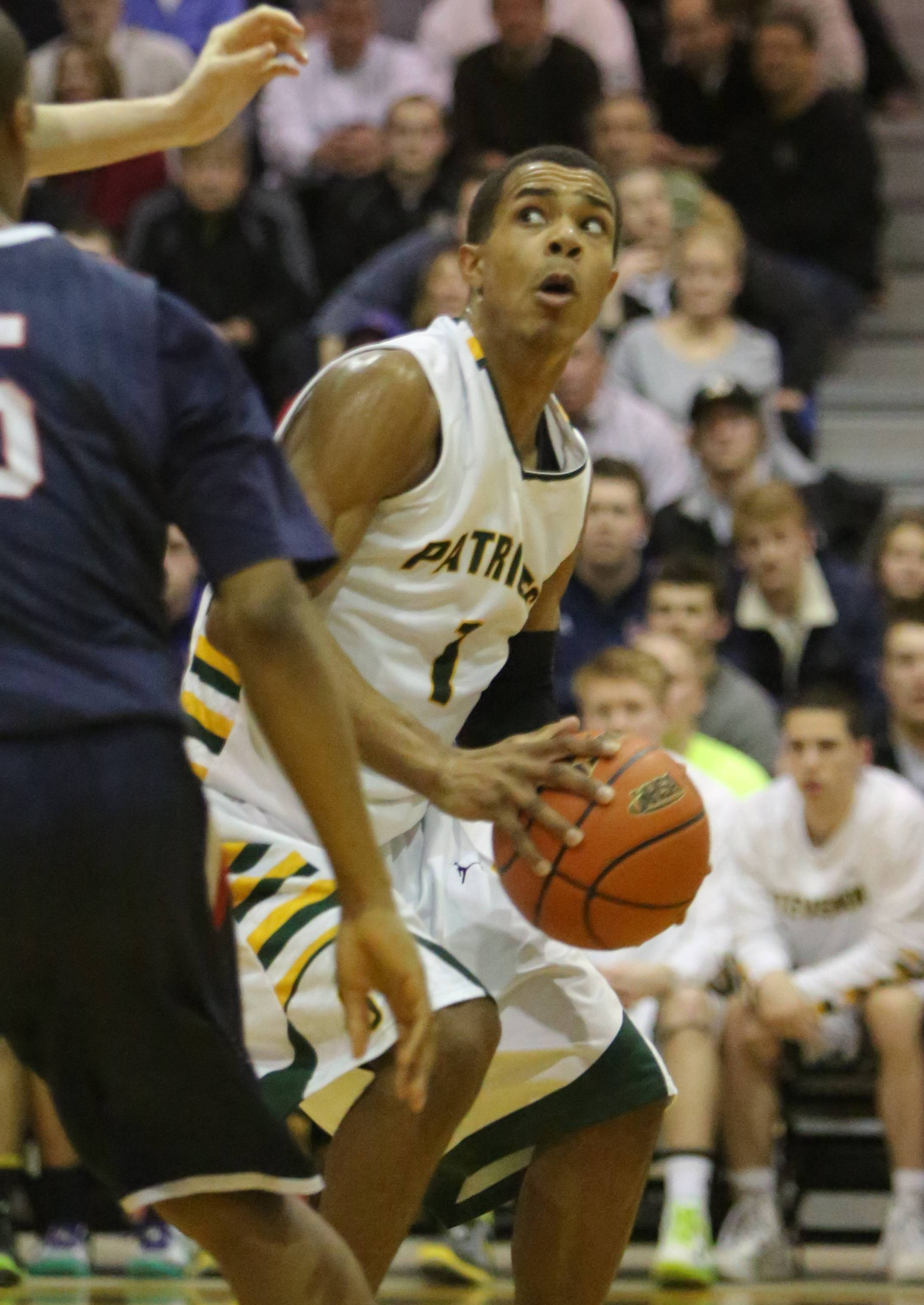 Images from the Stevenson vs. St. Viator boys basketball game on Tuesday, March 11 in Lake Zurich.