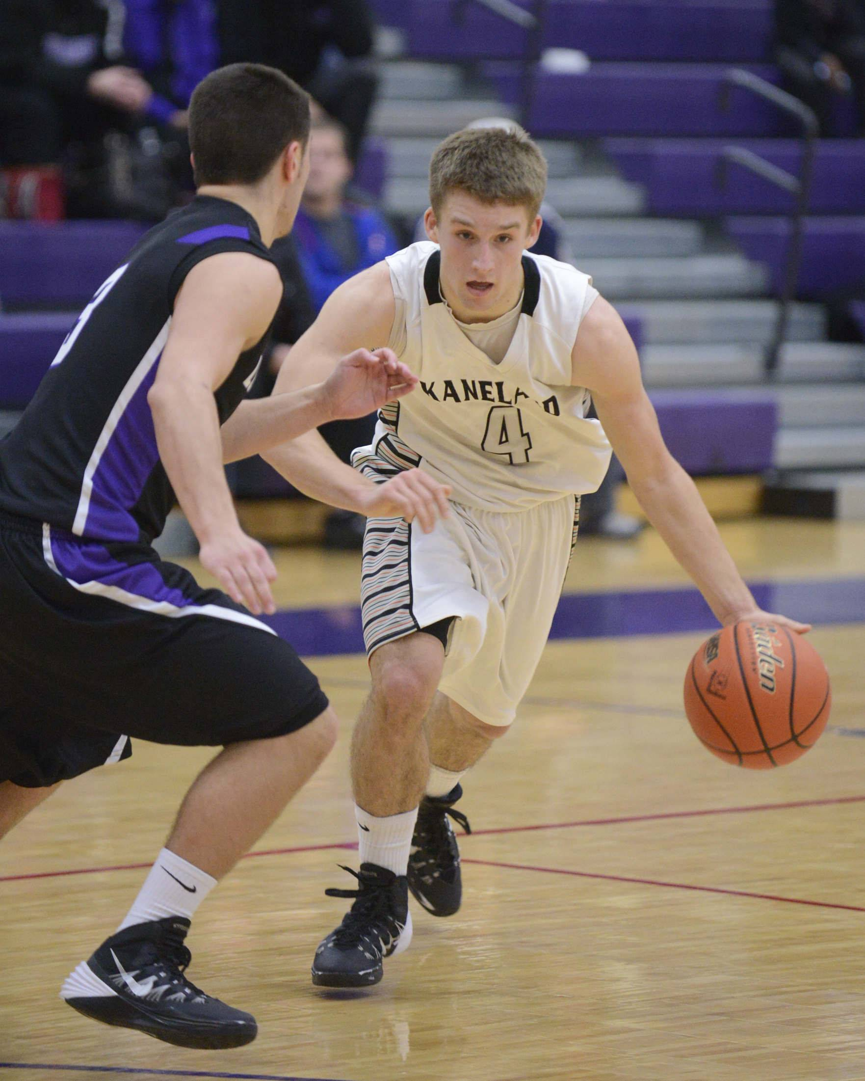 Images from the Kaneland vs. Rockford Lutheran boys basketball sectional semifinal Tuesday, March 11, 2014 in Hampshire.