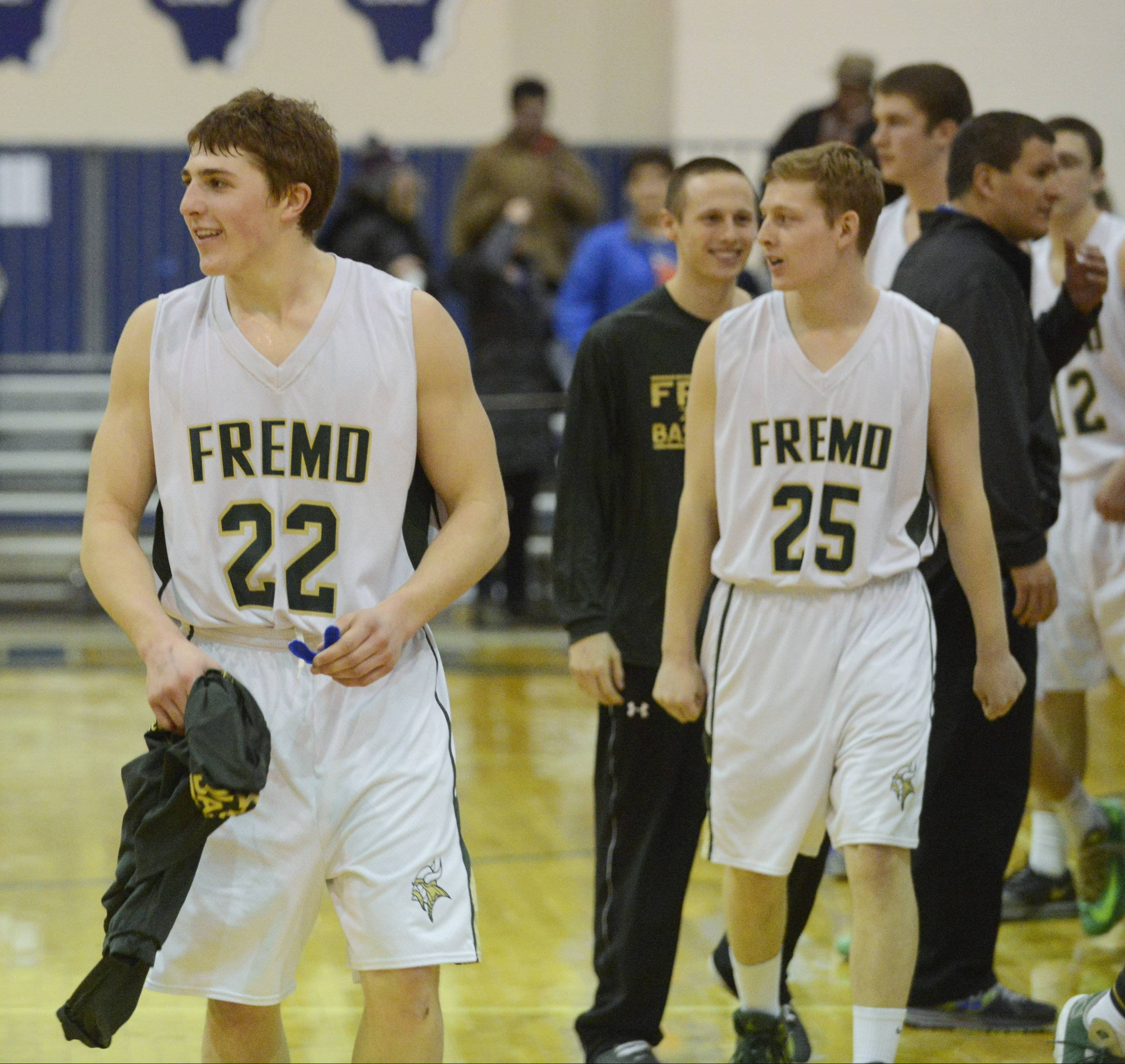 Photos from the Fremd vs. Highland Park boys Class 4A sectional semifinals Wednesday, March 12, in Lake Zurich.