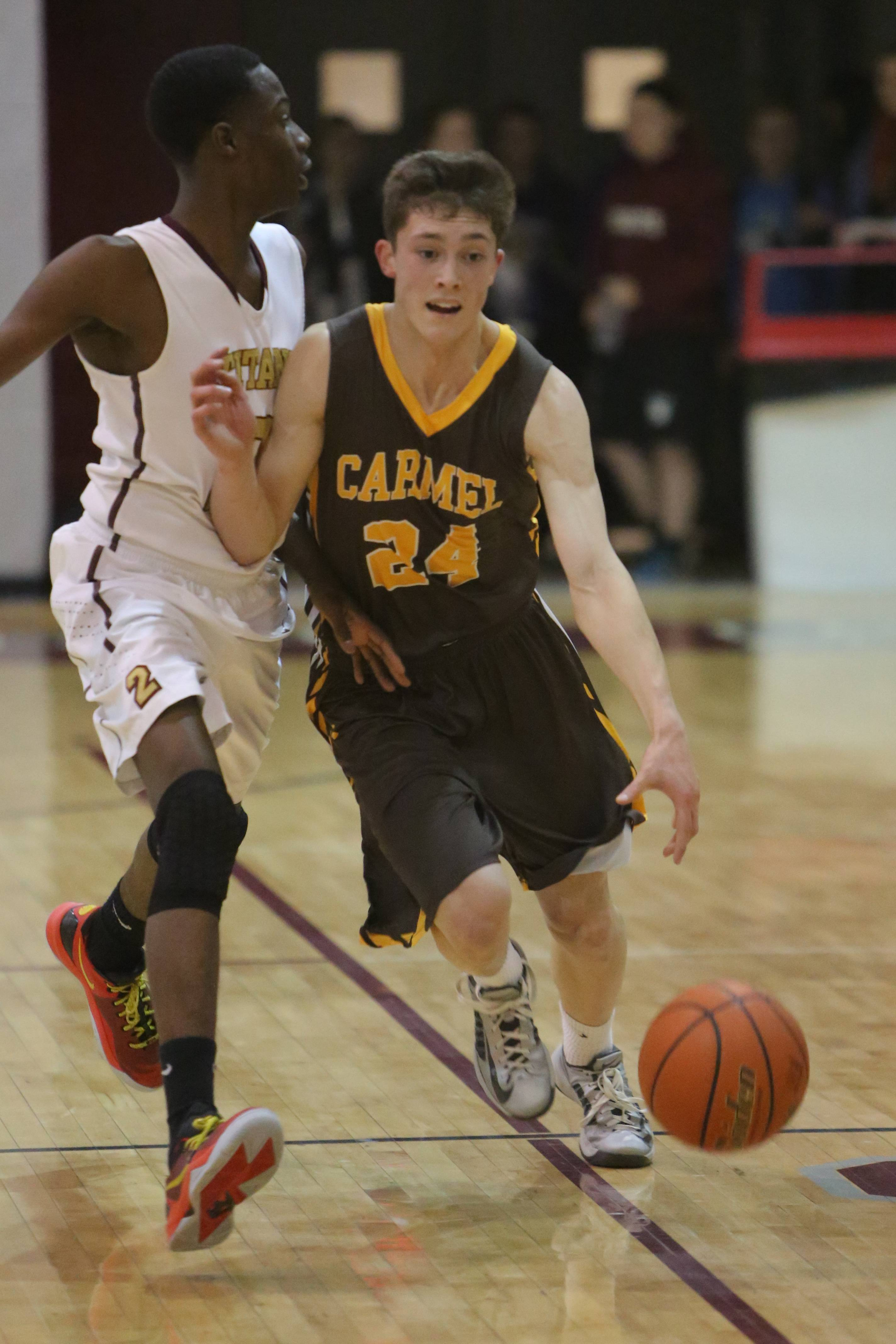 Images from the Carmel vs. Uplift boys basketball game on Wednesday, March 12 in Antioch.