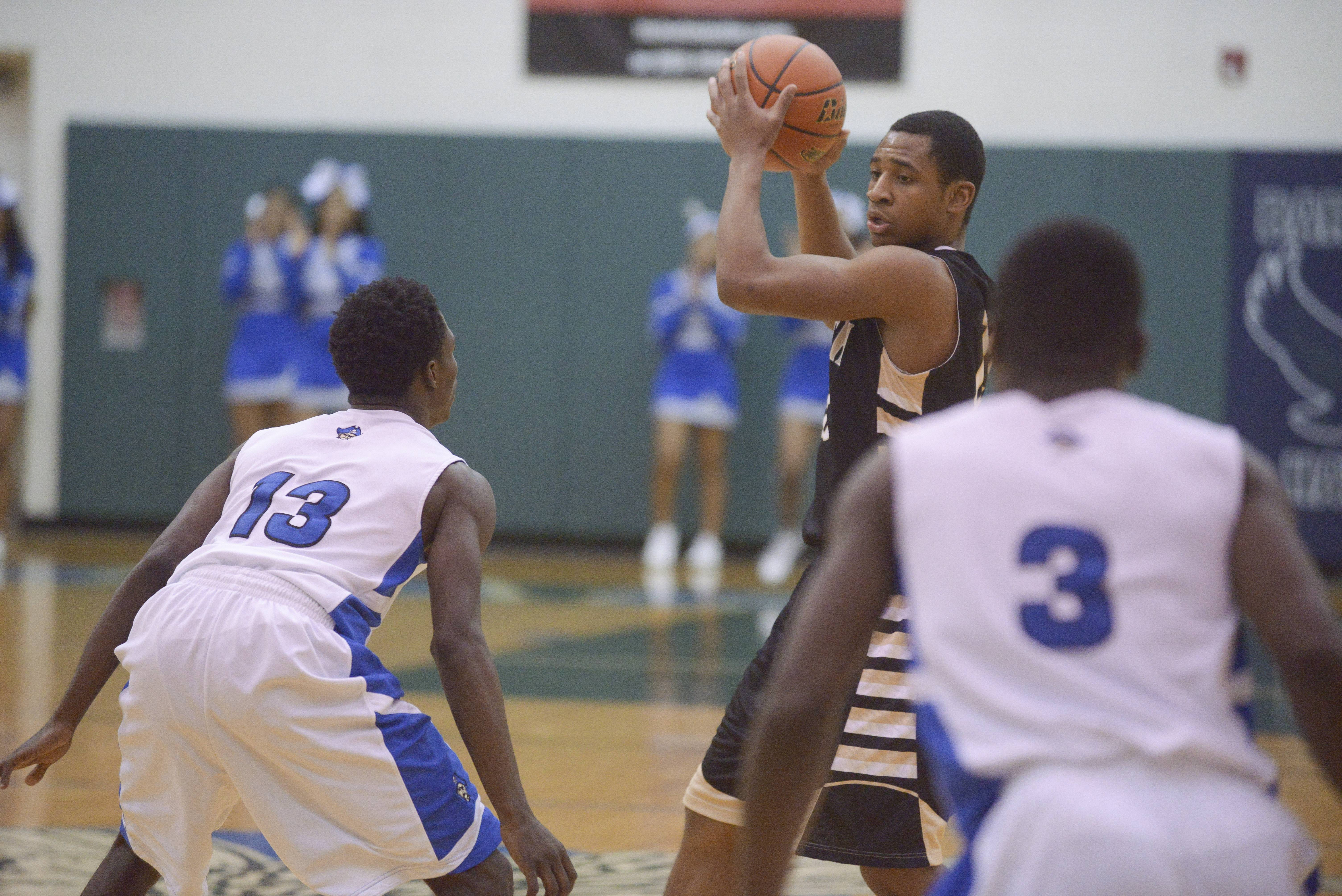 Glenbard North played Proviso East Wednesday, March 12 at Bartlett High School in sectional semifinal action.
