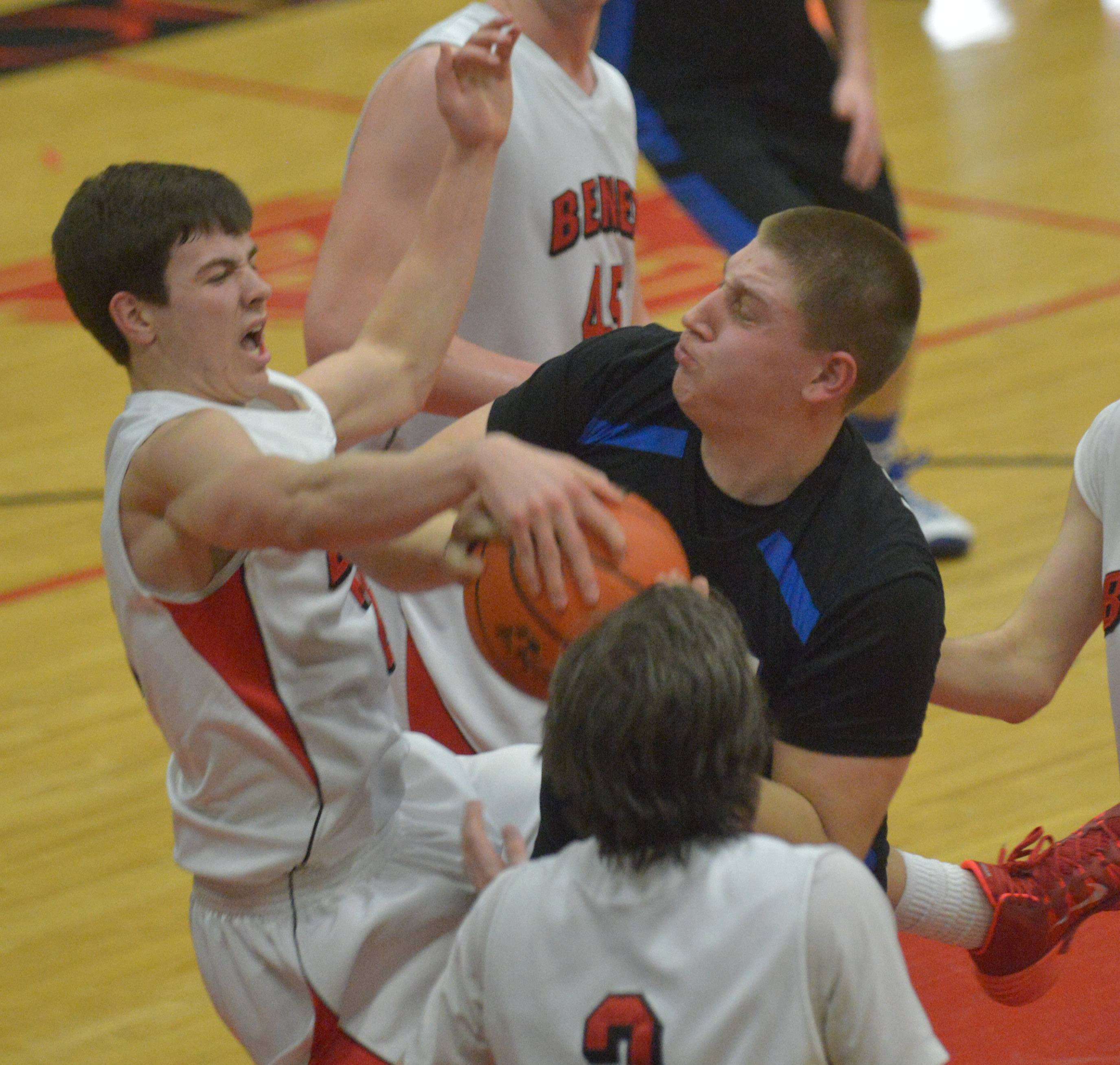 Images: Benet Academy vs. Geneva boys basketball