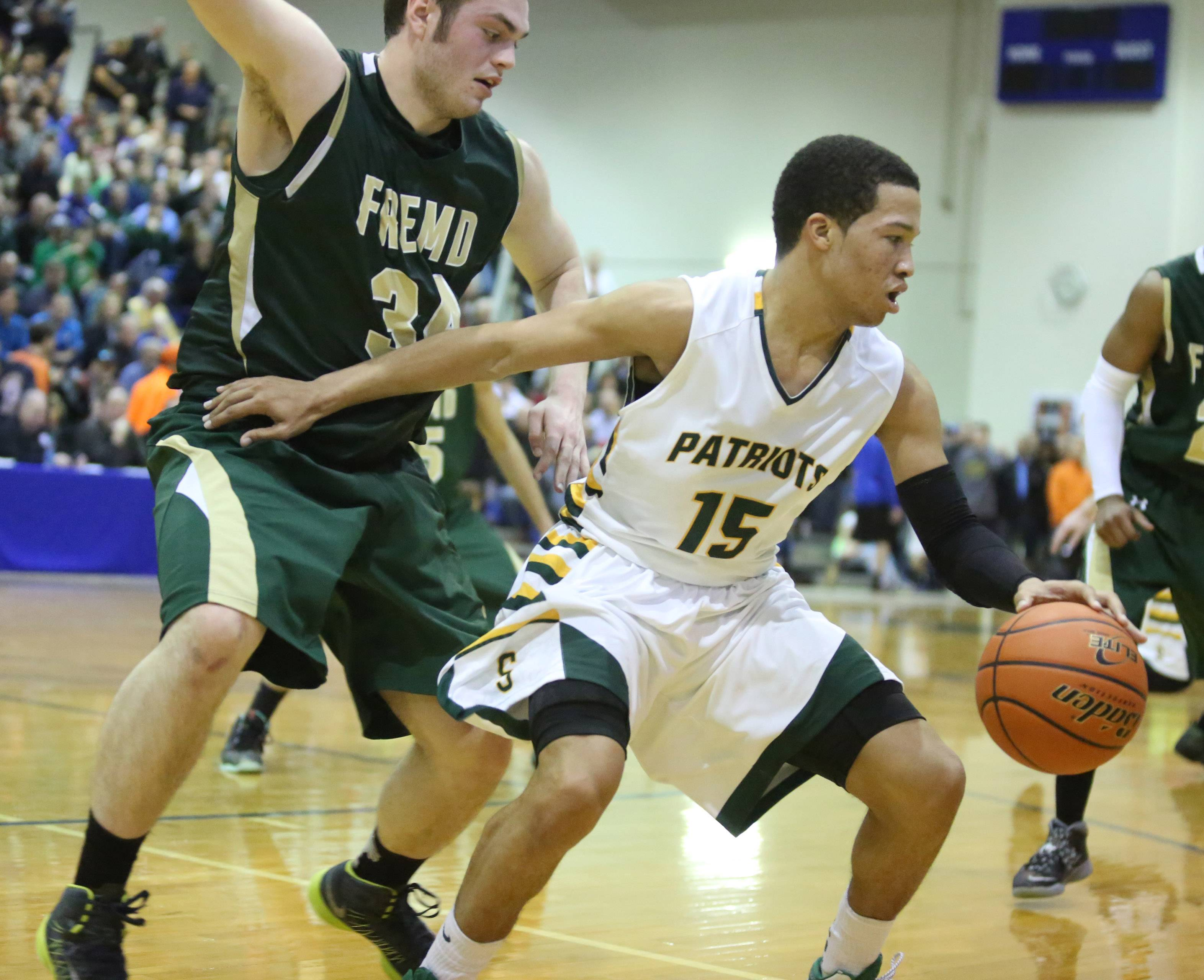 Images from the Stevenson vs. Fremd boys basketball game on Friday, March 14 in Lake Zurich.