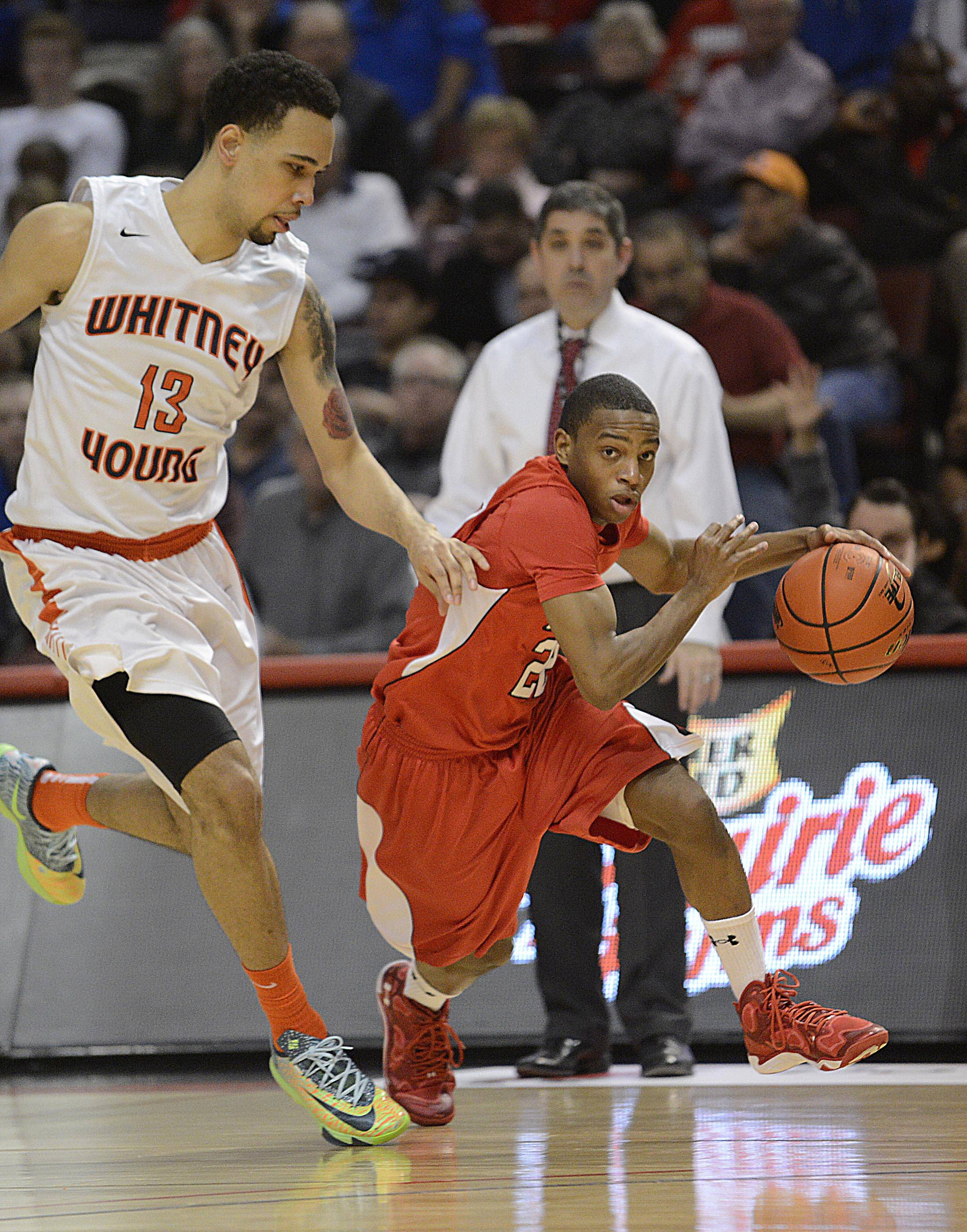 Images from the  Class 4A state championship boys basketball game  at Carver Arena in Peoria on Saturday, March 22, 2014.