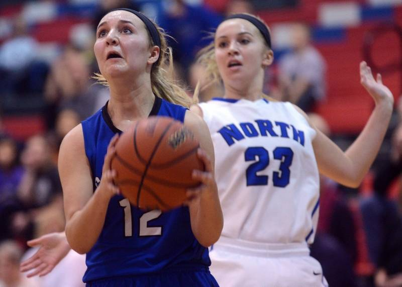 Images Burlington Central vs St Charles North girls basketball – Sample Christmas Game