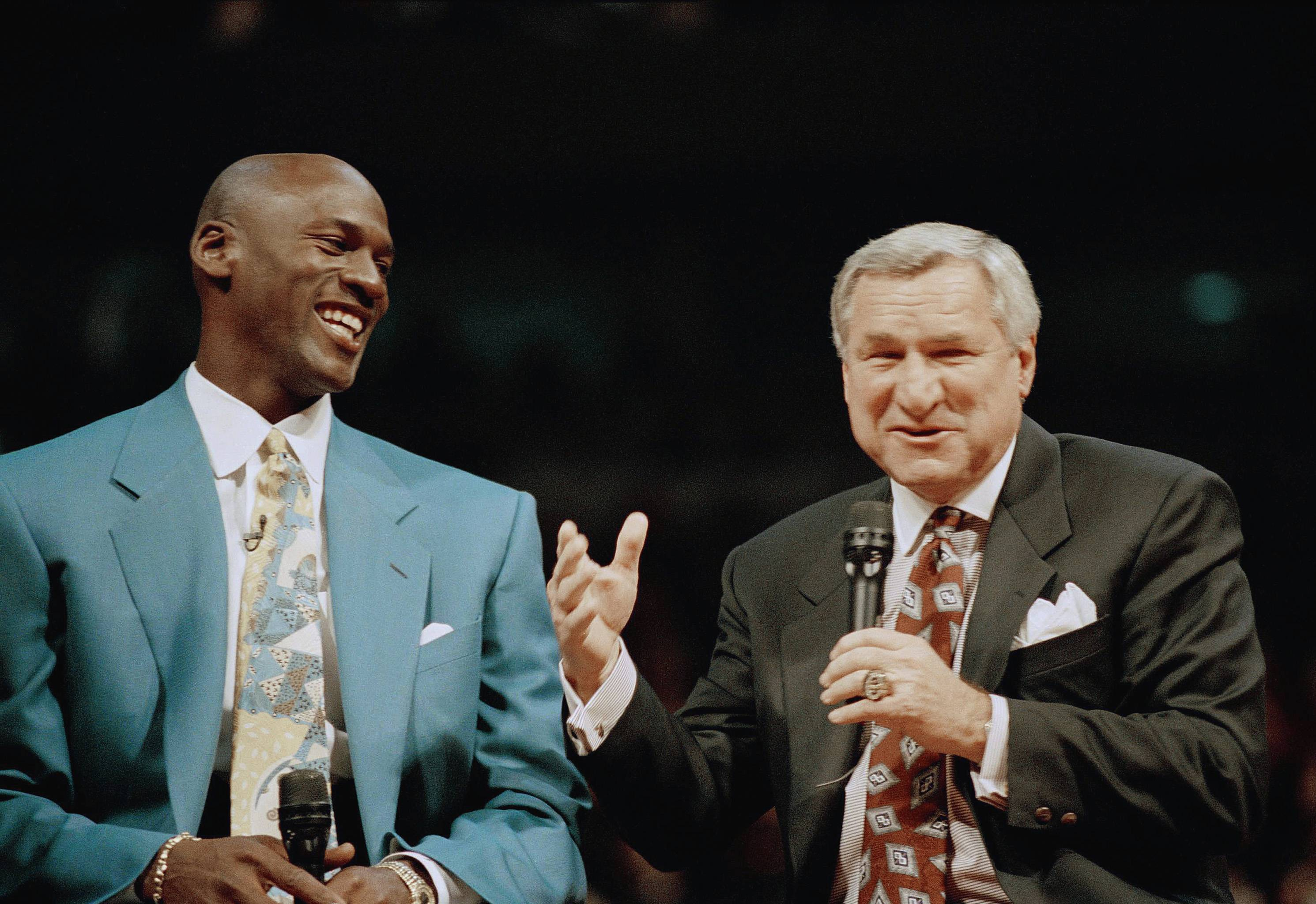 dean smith Legendary north carolina basketball coach dean smith the late north carolina basketball coach dean smith said thank you to all of his former players one last time in his will about 180 former tar heels will get $200 checks from the accountant who administers his trust the checks contain the.
