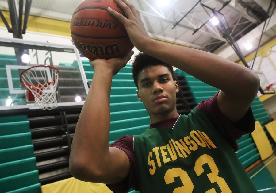 Stevenson forward Justin Smith is the lone returning starter from last year's Class 4A state championship team.