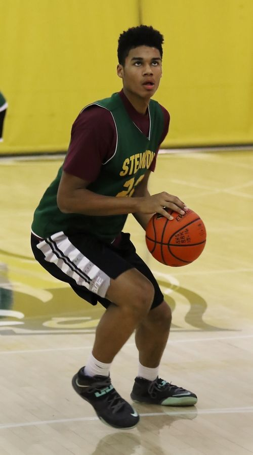 Stevenson forward Justin Smith is the lone returning starter from last year's state championship team.