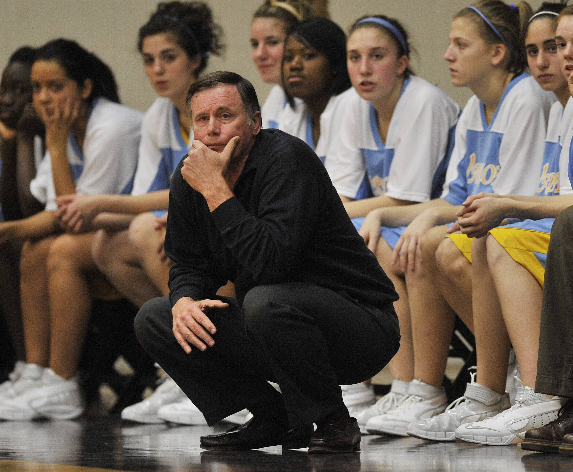 Maine West girls basketball coach Derril Kipp in 2007.