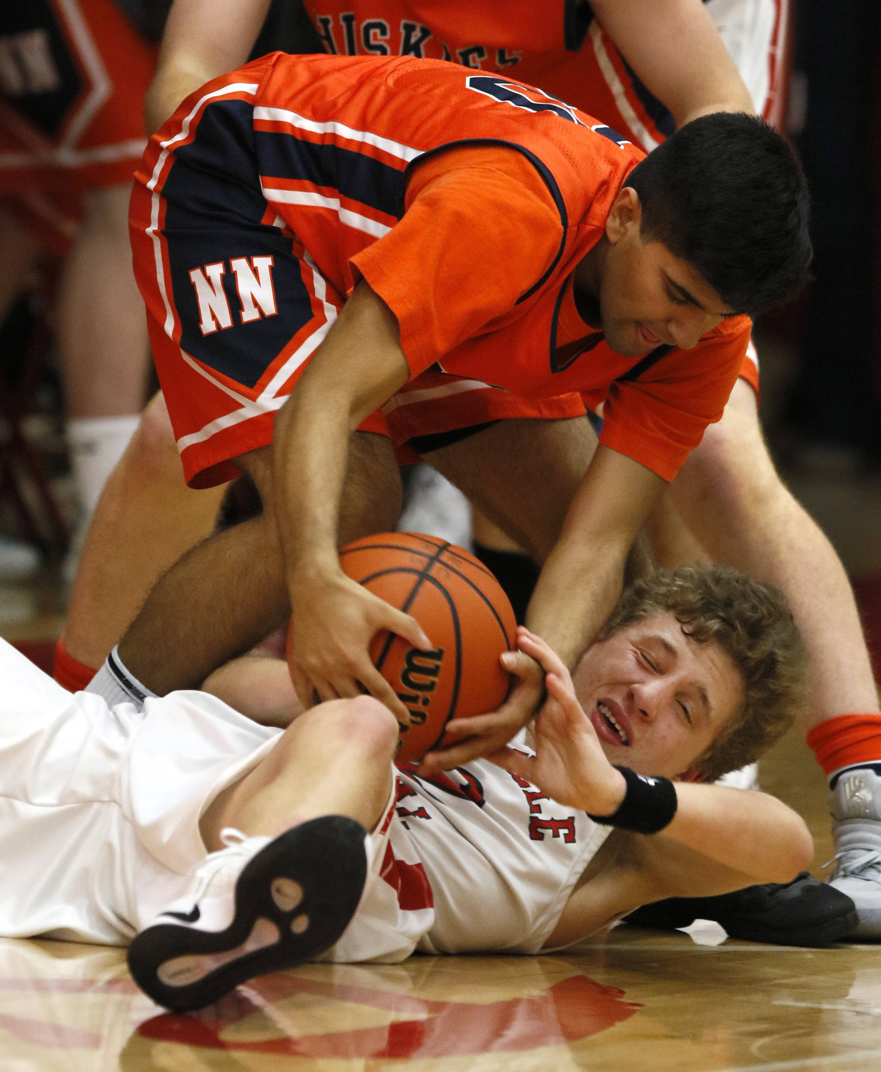 Images: Naperville Central hosted Naperville North for boys basketball
