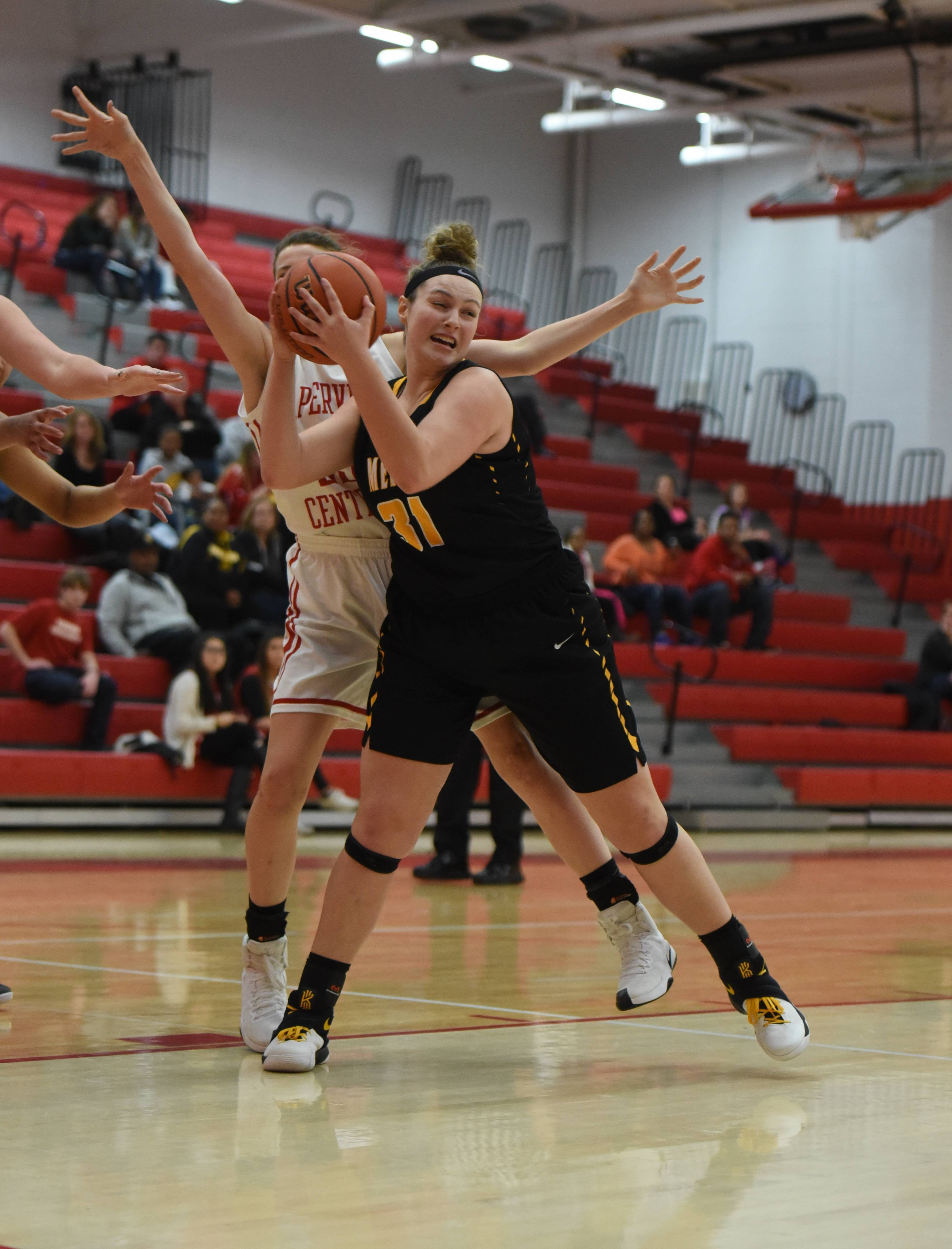 Images from the Metea Valley at Naperville Central girls basketball game on January 19, 2017.