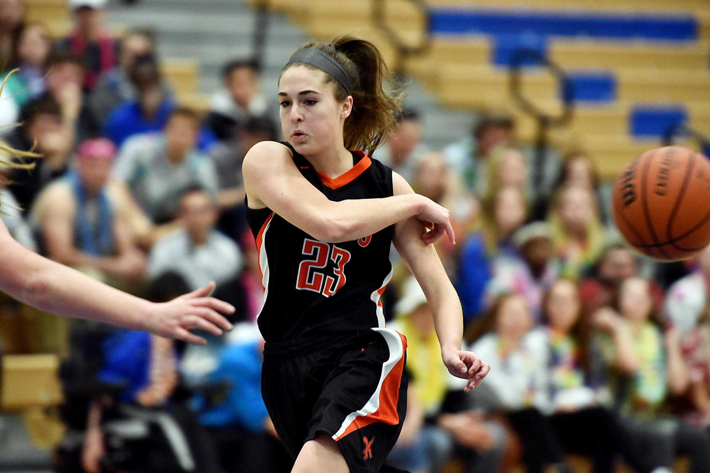 Images: St. Charles North vs. St. Charles East, girls basketball