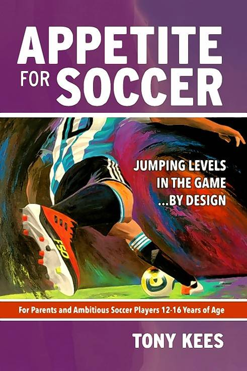 Appetite for SoccerBook by Tony Kees