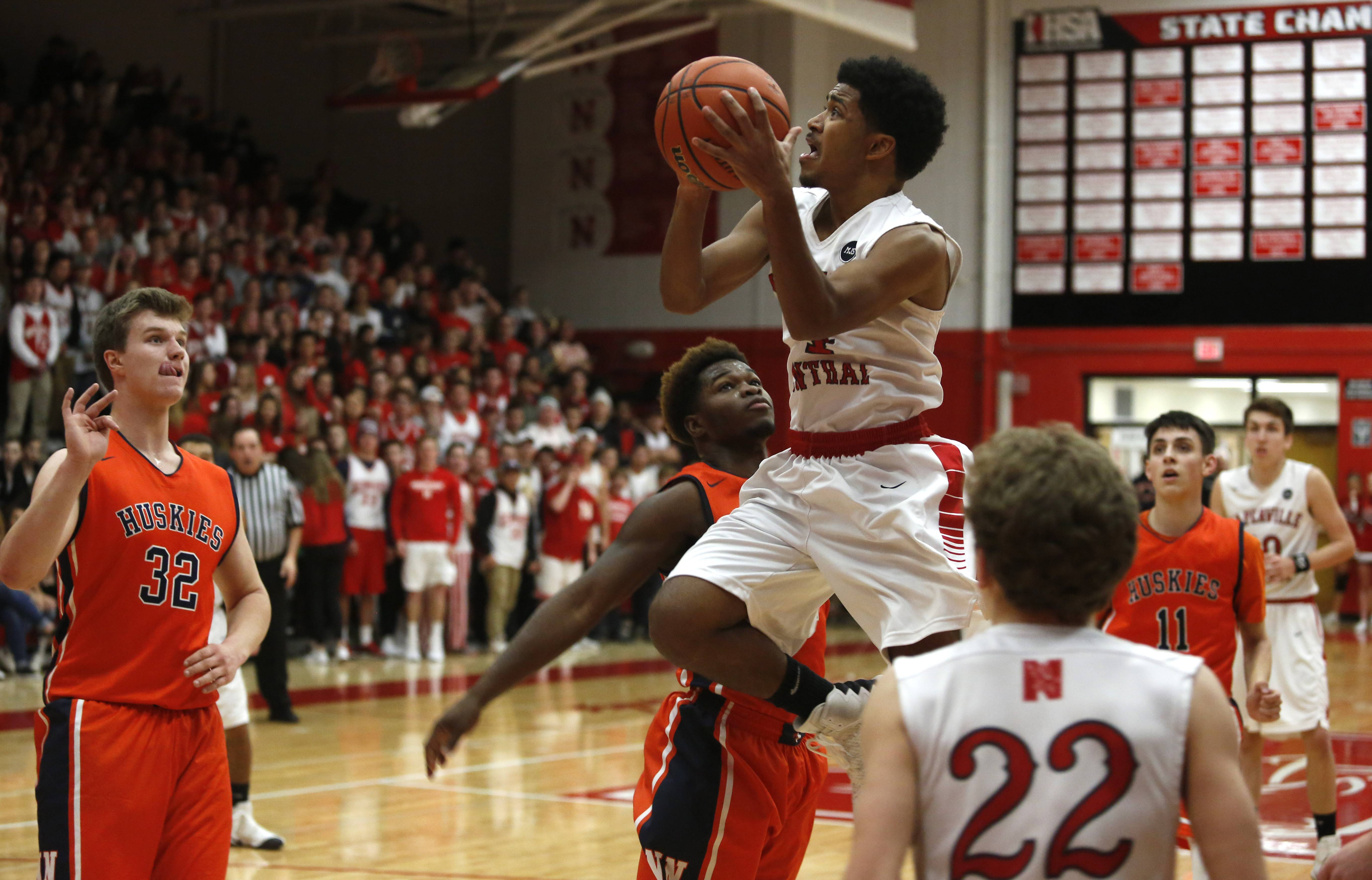 Naperville Central has been on the rise in the DuPage Valley Conference standings lately.