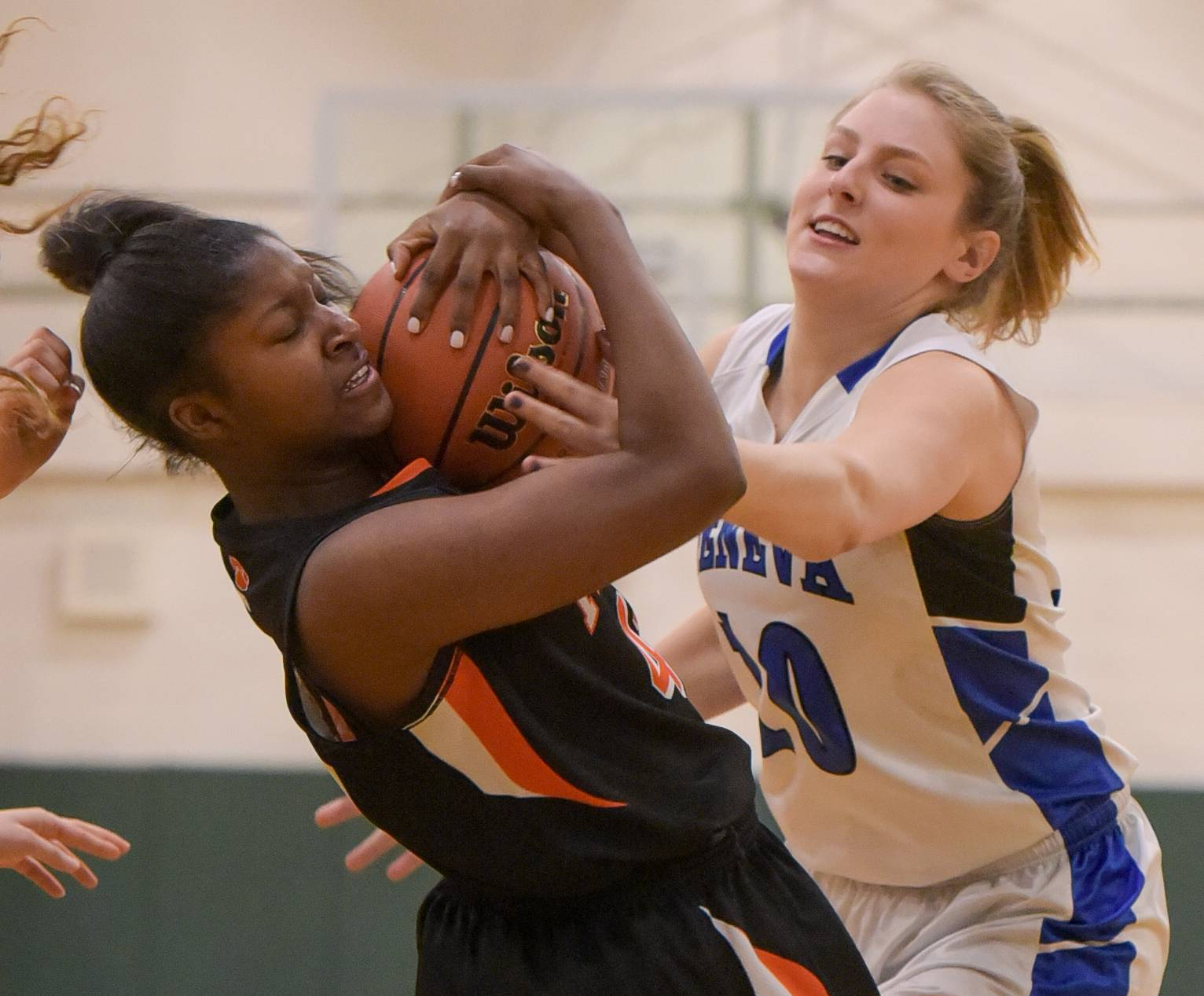 Images: Wheaton Warrenville South vs. Geneva girls basketball