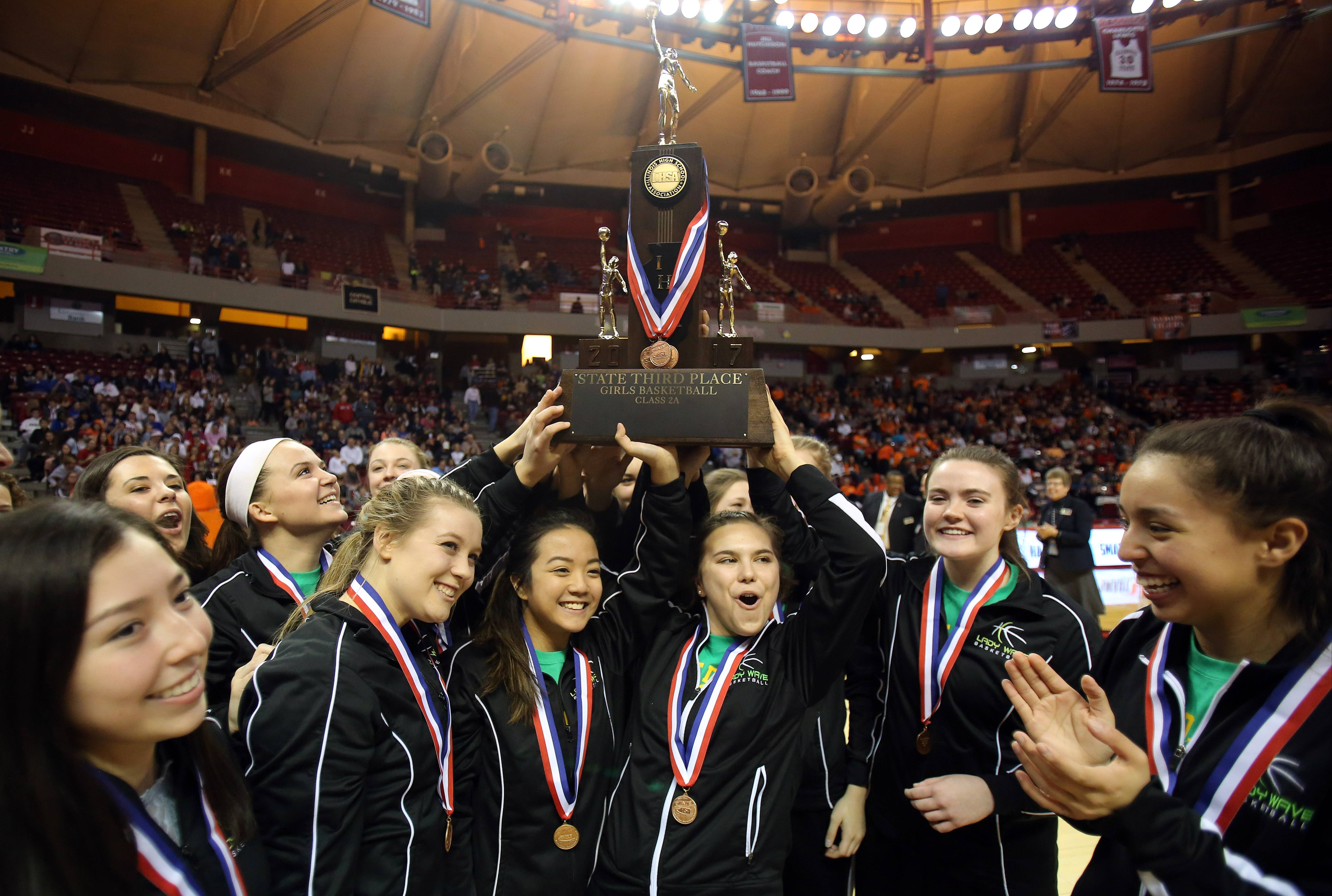 St. Edward more than satisfied with 3rd place at state