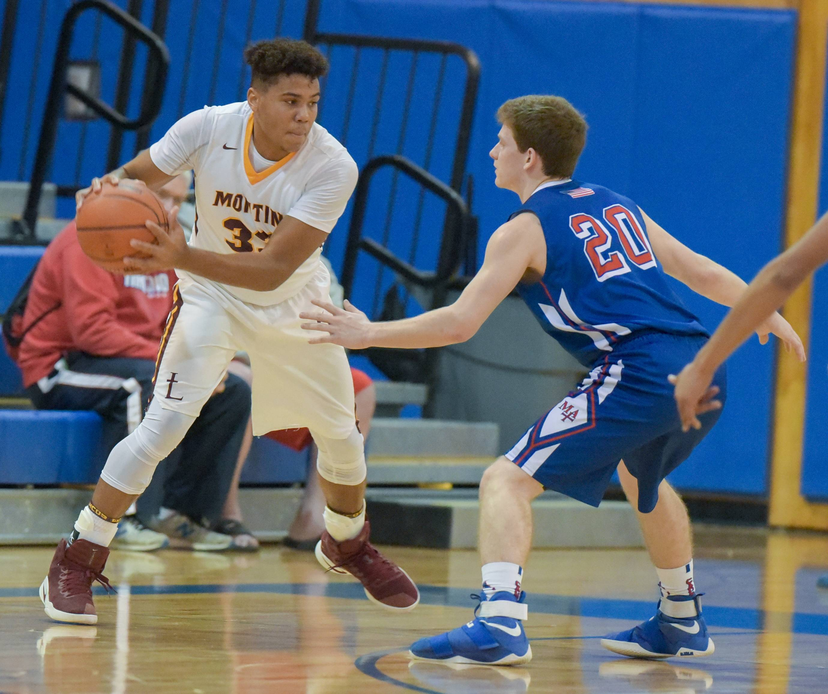 Inspired Thompson leads Montini past Marmion