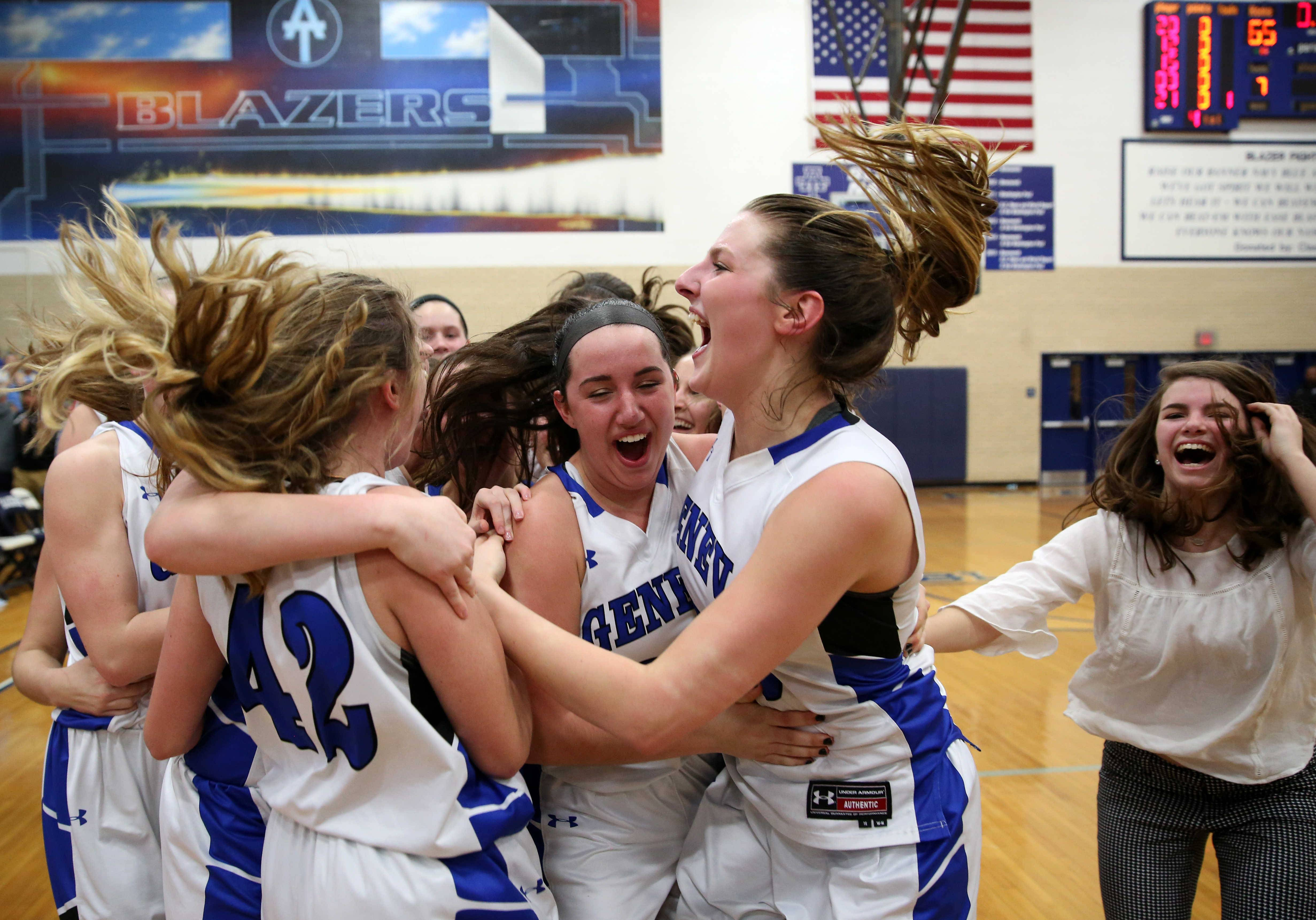 Images: Geneva vs. Maine West, girls basketball