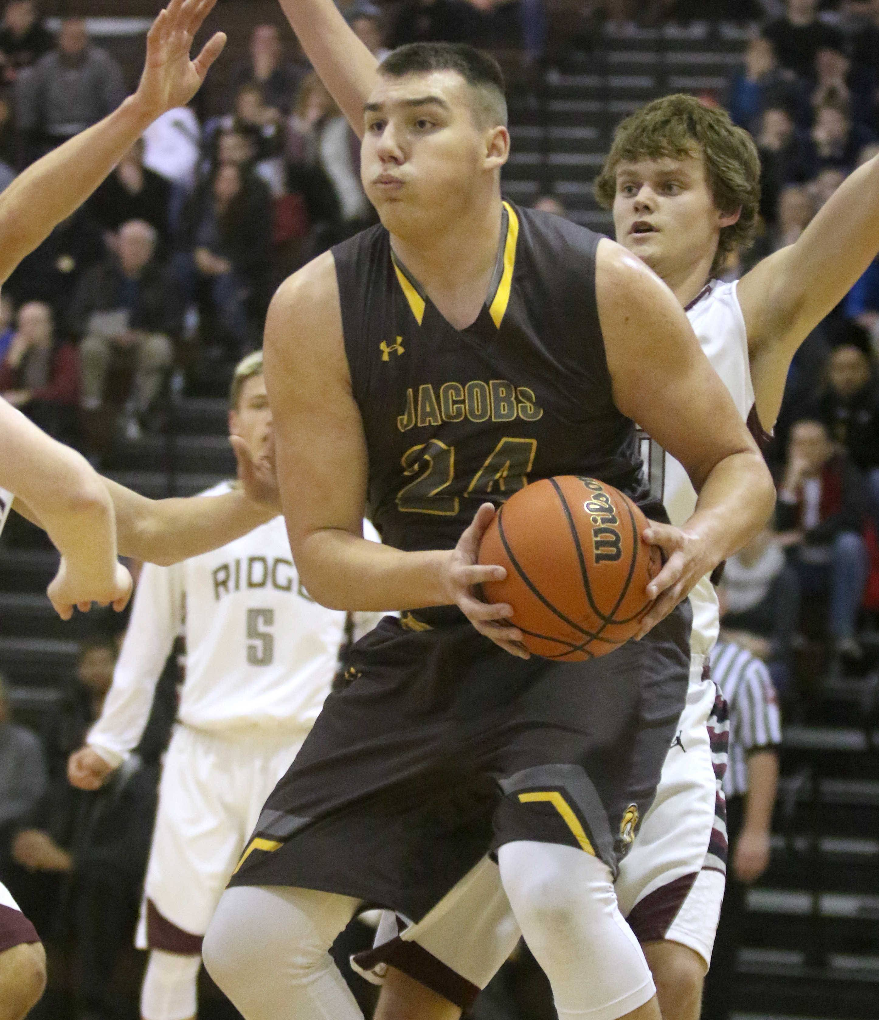 It's all brains, boards and basketball for Jacobs' Krutwig
