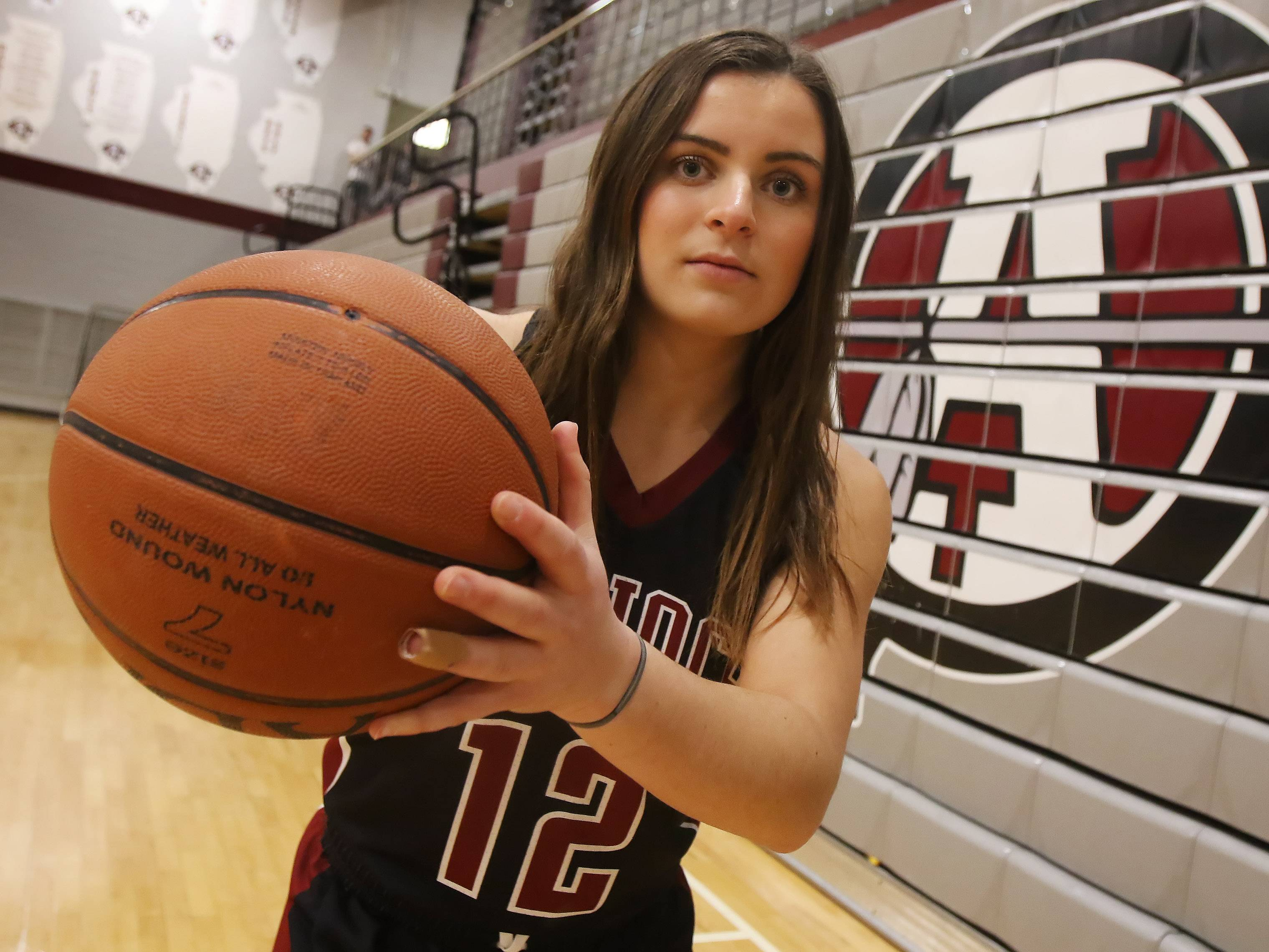 Antioch point guard Ashley Reiser captains the Daily Herald's Lake County girls basketball all-area team.