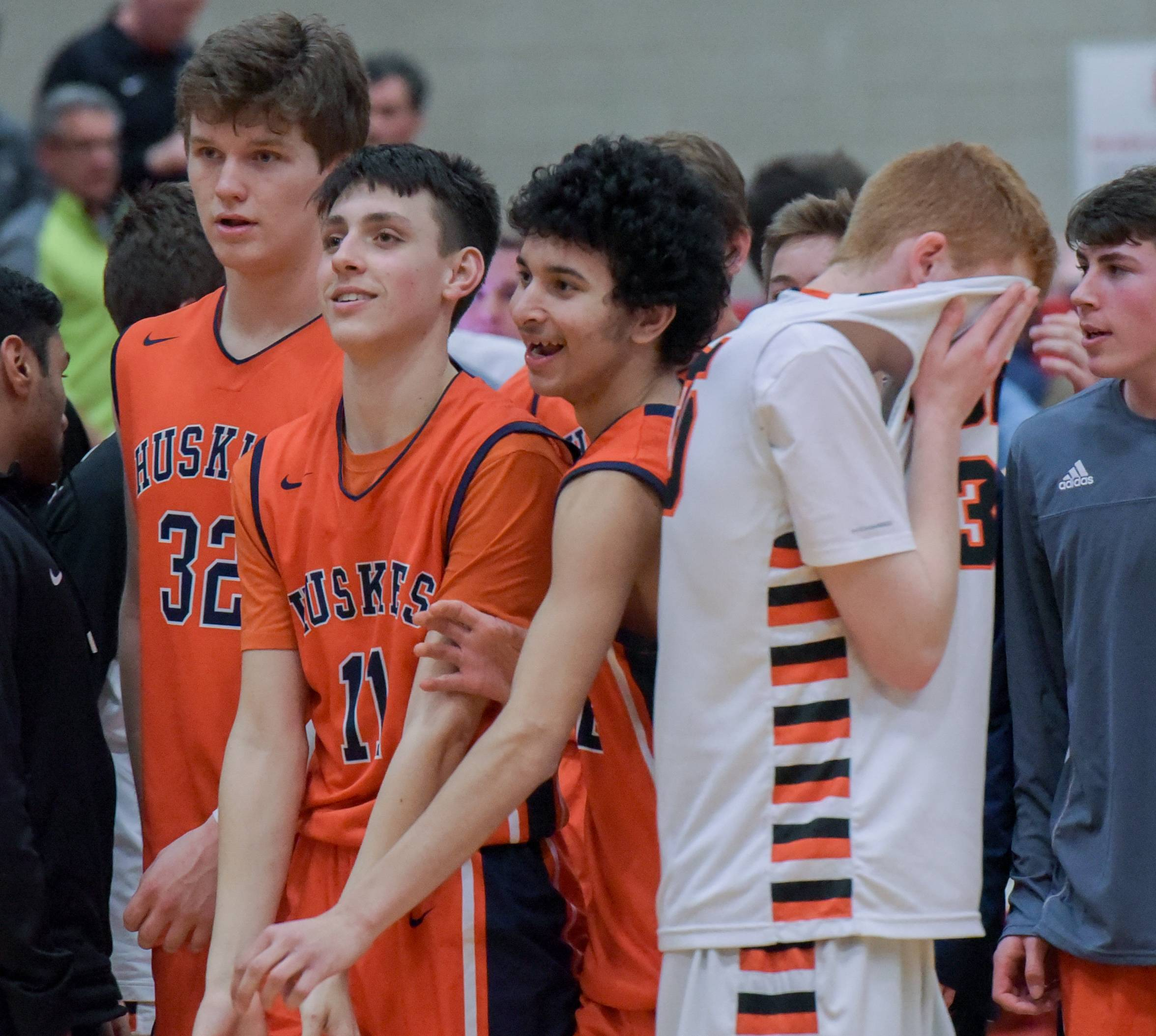 Images: Wheaton Warrenville South vs. Naperville North boys basketball