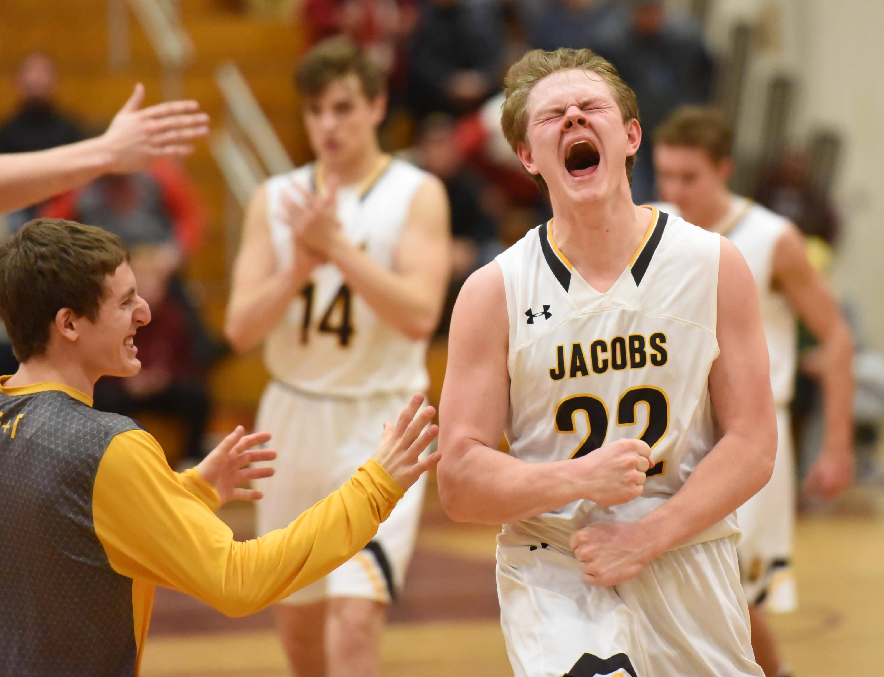 Jacobs reaches Sweet Sixteen for first time in school history