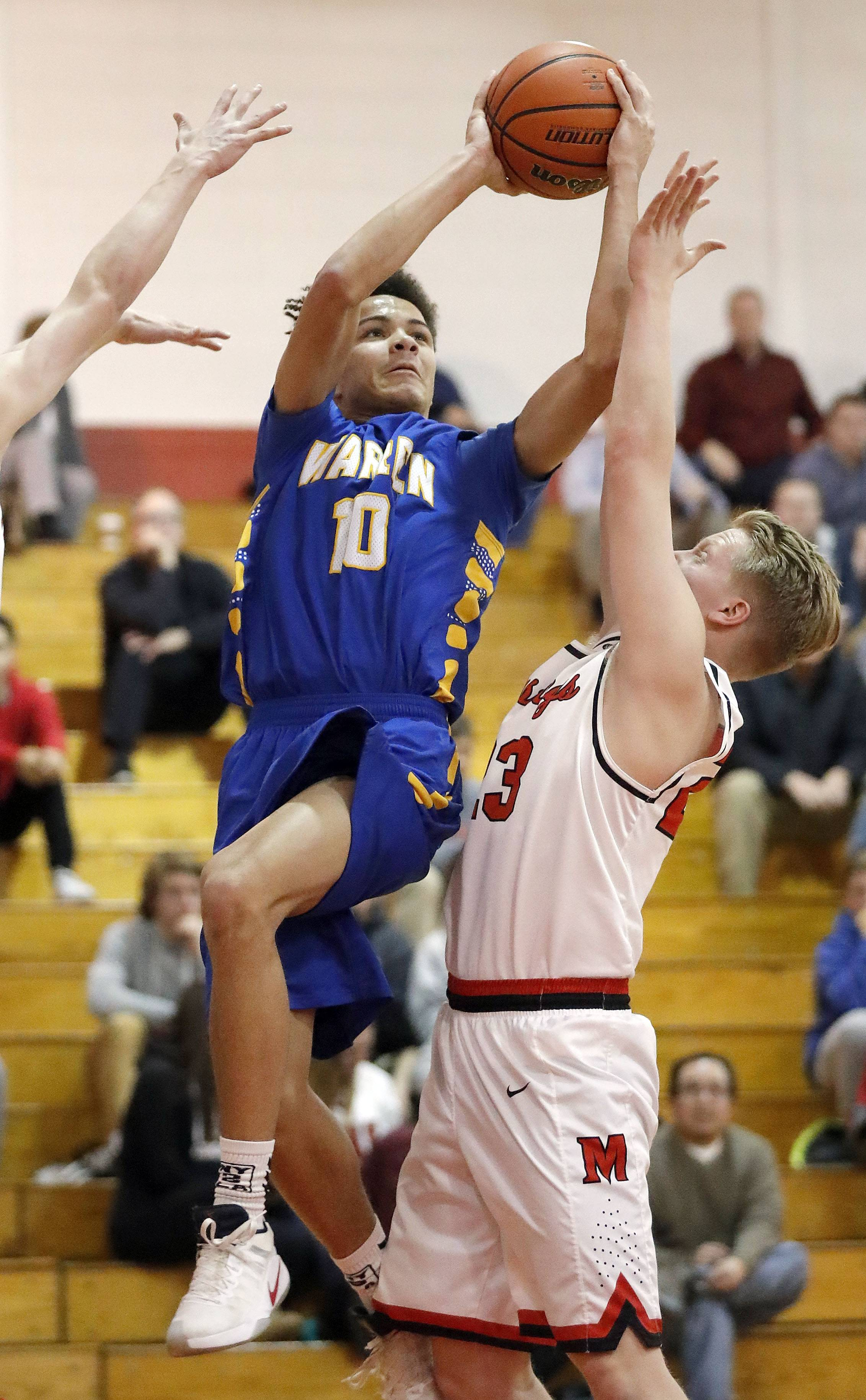 Close call, as Warren hangs on against Mundelein