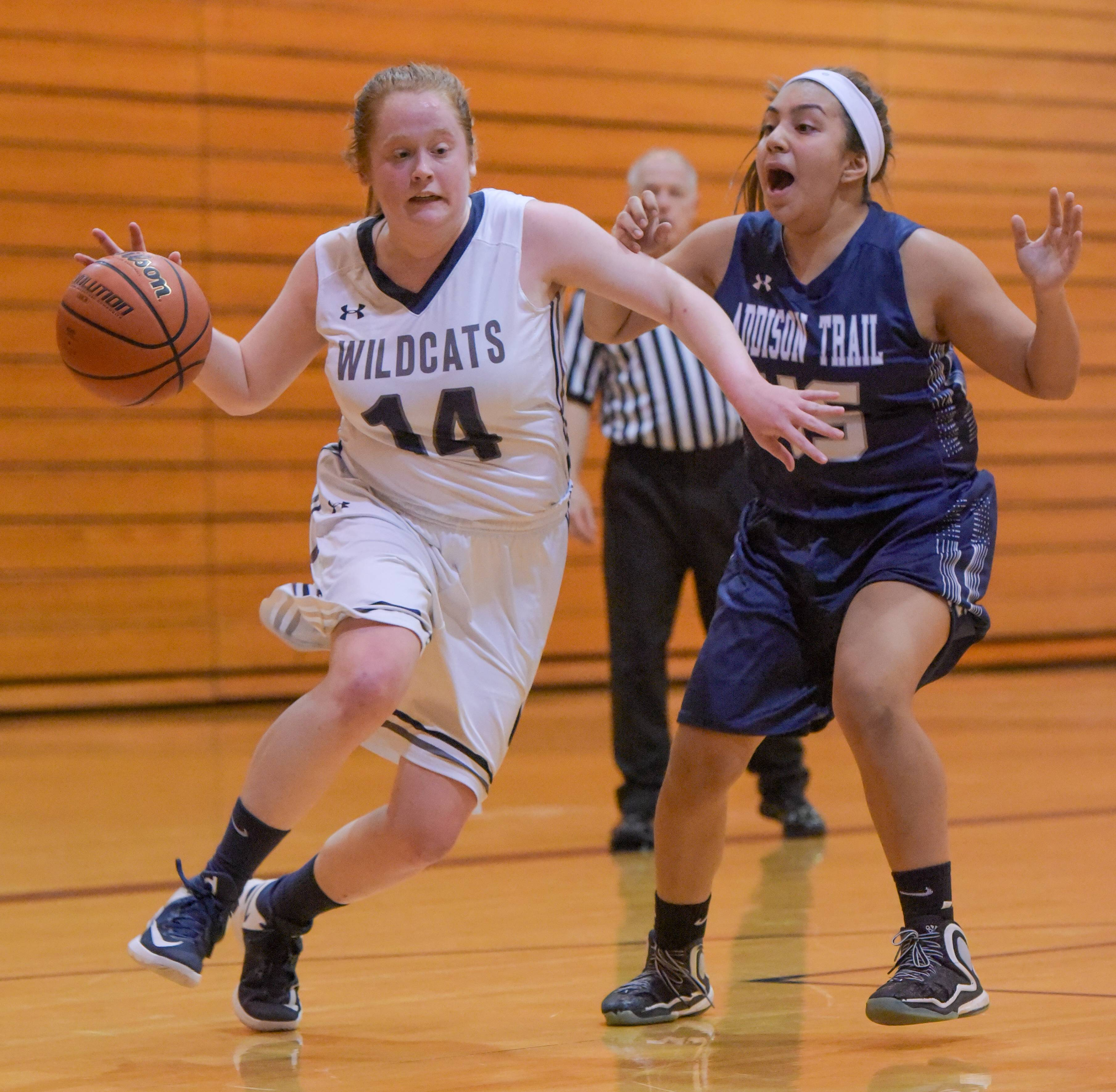 West Chicago vs. Addison Trail, girls basketball