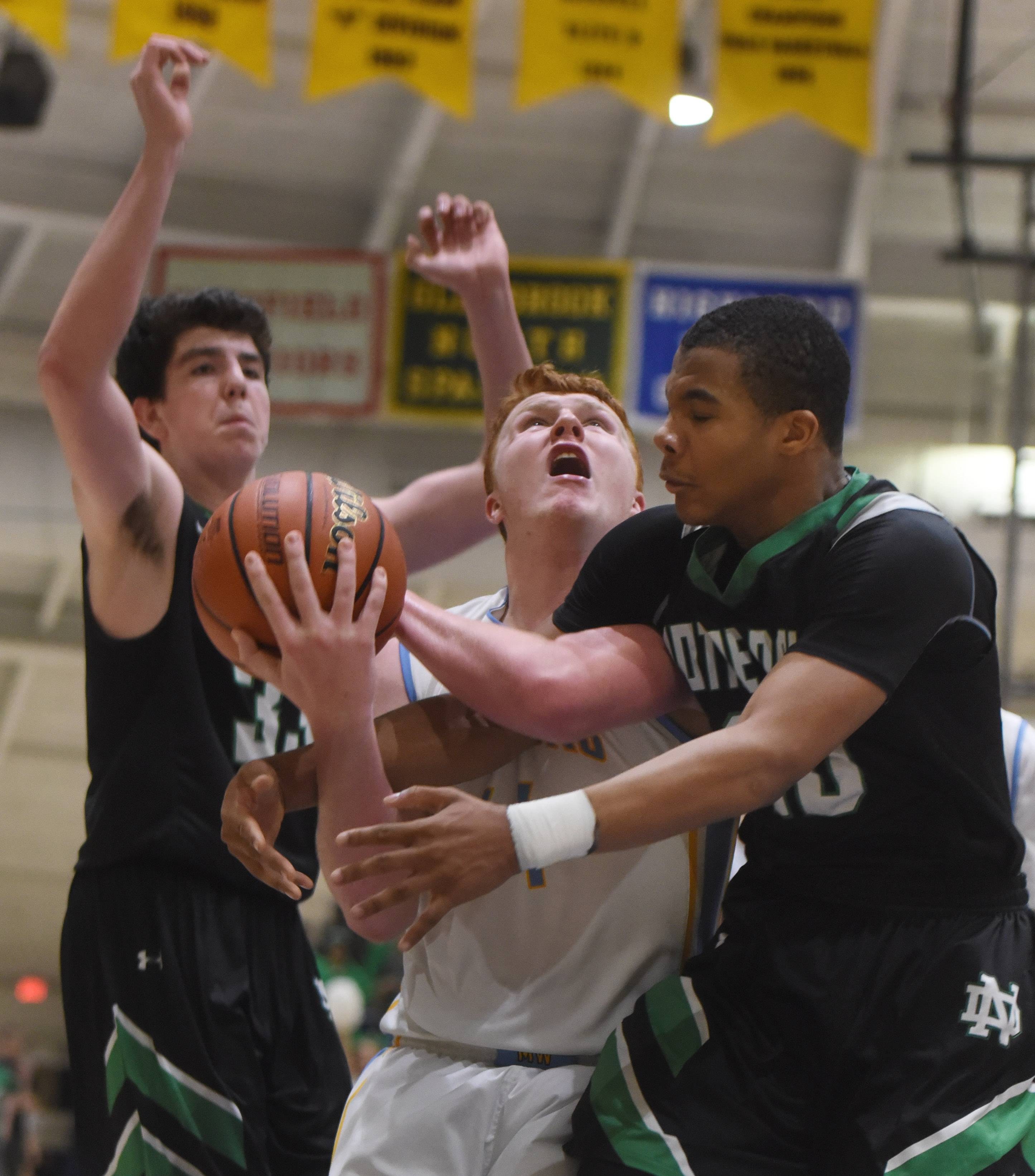 Images: Maine West vs. Notre Dame, Class 4A regional semifinal boys basketball