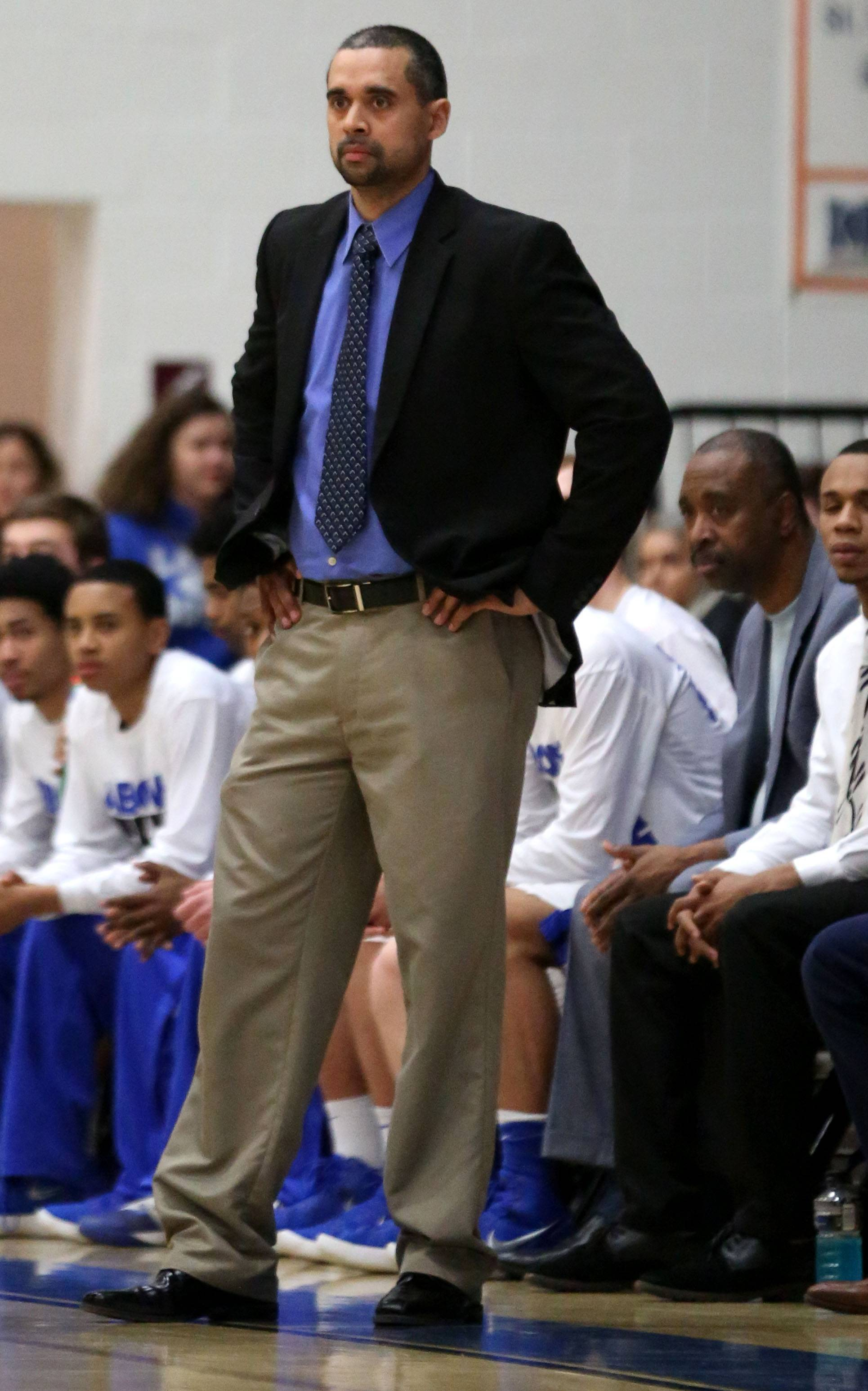 Larkin boys basketball coach Deryn Carter has the Royals back in sectional play, where they will meet Rockford Auburn Tuesday at 7 p.m. in the Class 4A Jacobs semifinals.