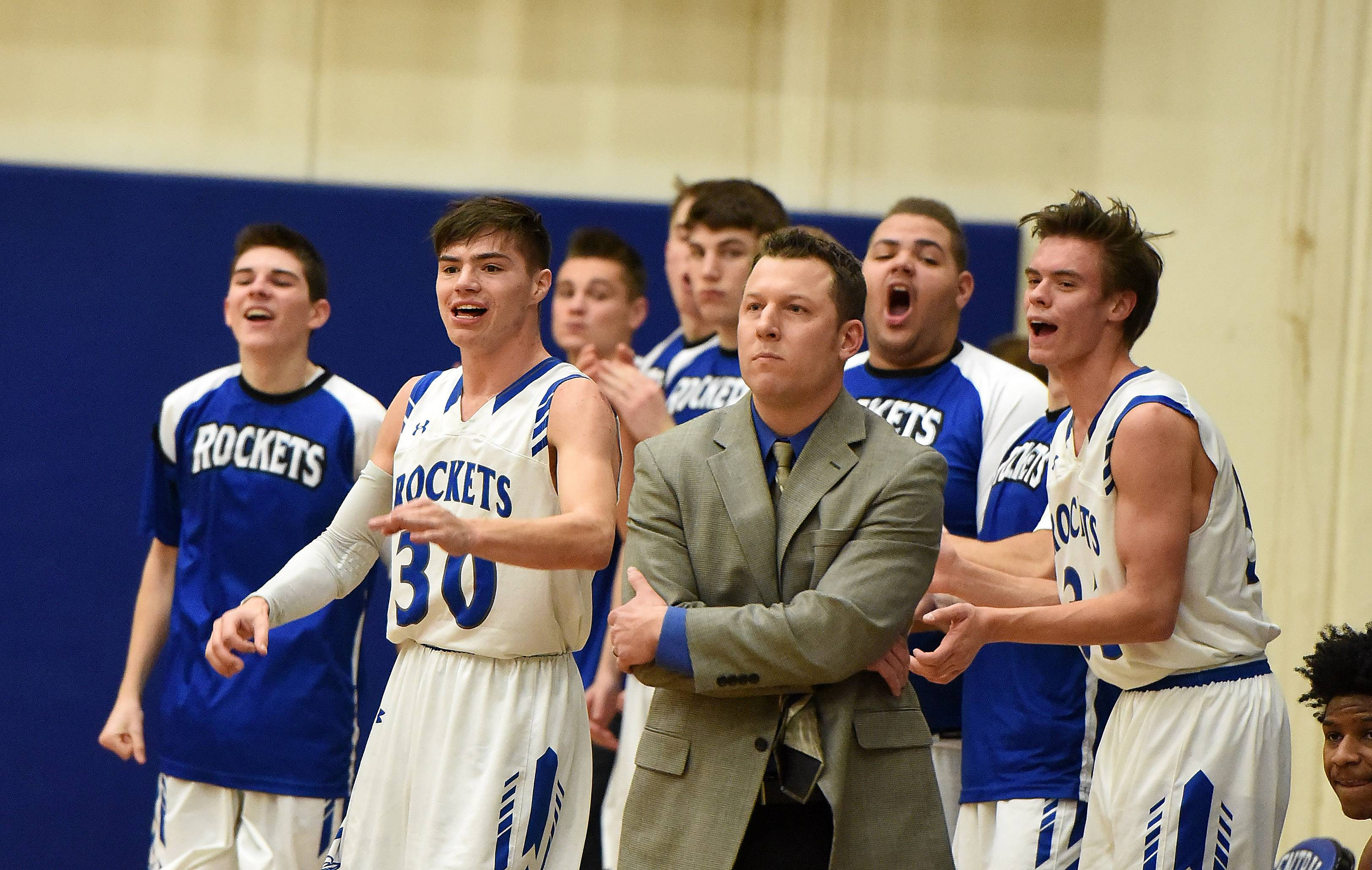 Burlington Central, under the guidance of head coach Brett Porto, won a program-record 28 games this season and advanced to the Sweet 16 for the first time in school history.