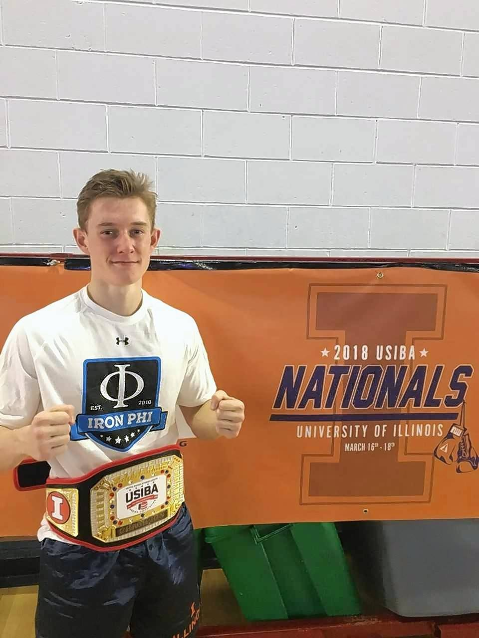 Illinois sophomore Ryan Rowden, a Fremd grad, represented the Illini in the 2018 US Intercollegiate Boxing Association quarterfinals hosted on the Champaign campus.