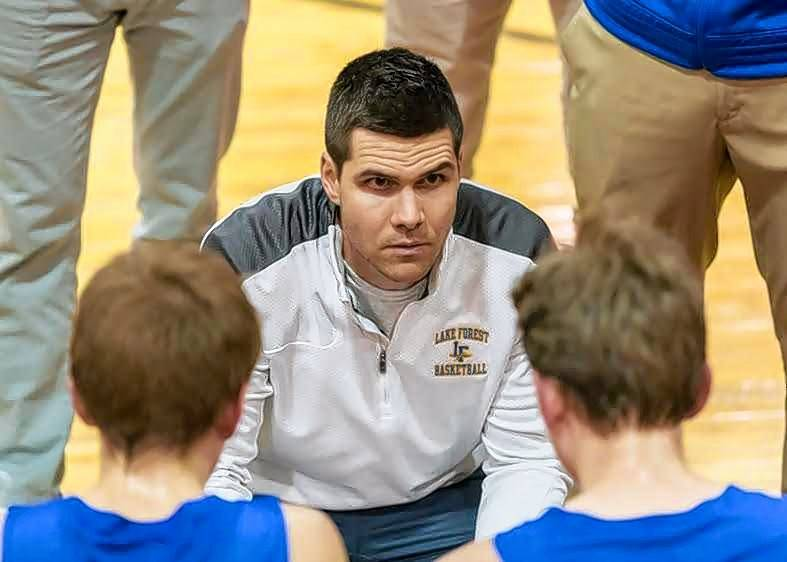 Submitted photoAustin Scott, a Lake Zurich grad who had been teaching and coaching at Lake Forest, will be the varsity boys basketball coach at Hersey.