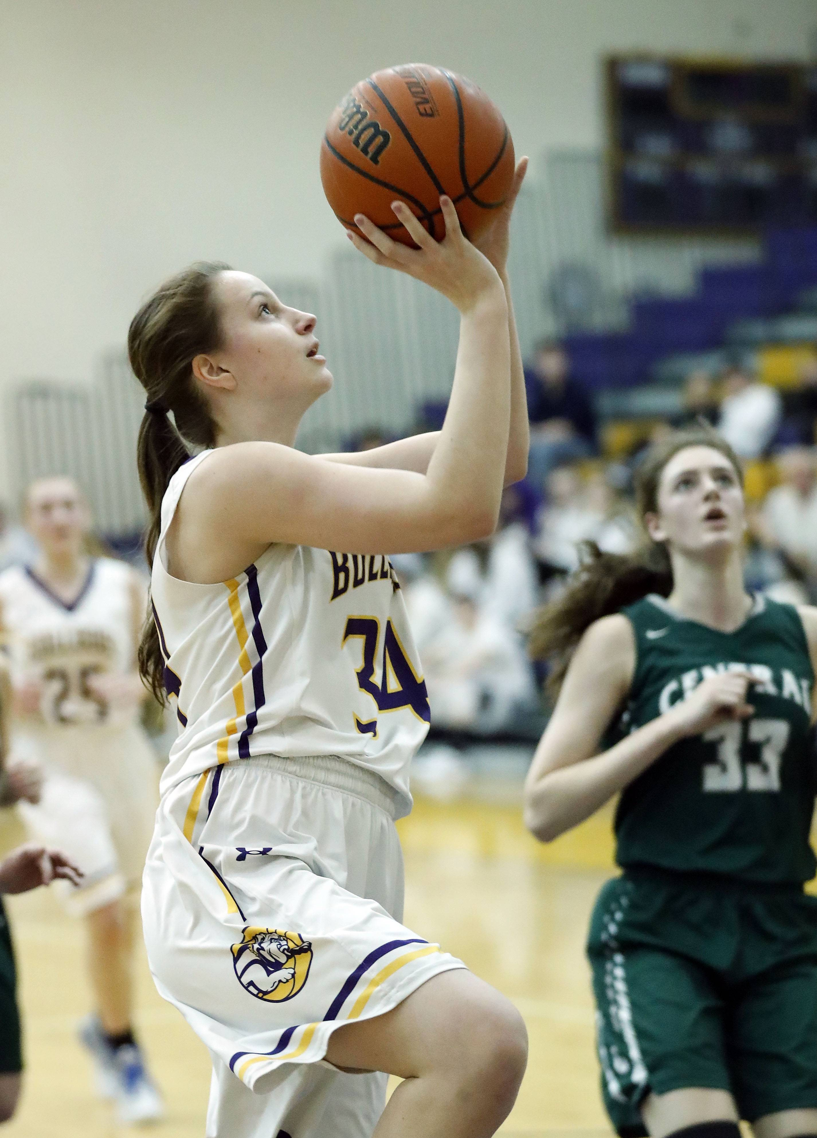 Wauconda's Kiley Szmajda returns for her sophomore season after starting on varsity as a freshman.