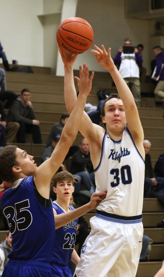 Prospect's Jon Kreidler is one of the top returning players in the Mid-Suburban East this season.