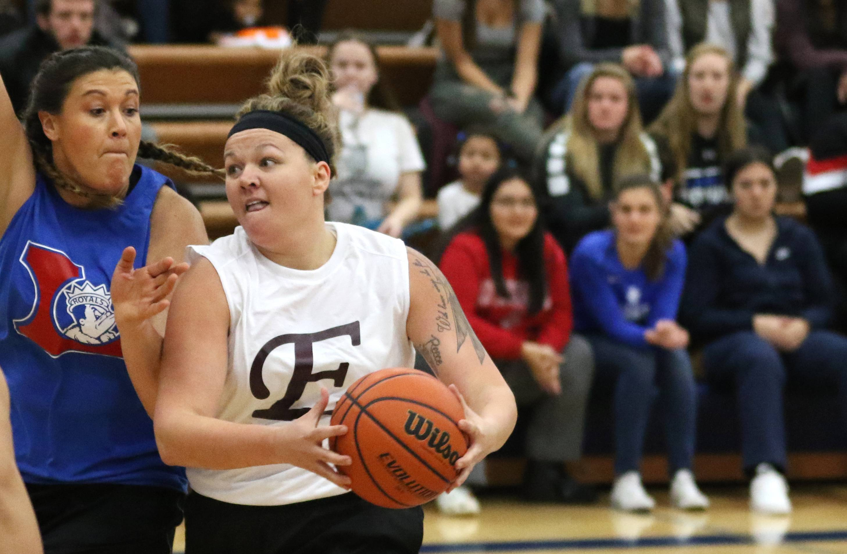Elgin, Larkin women savor the opportunity to face each other again