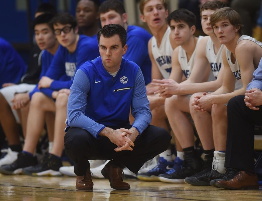 Wheeling boys basketball coach Michael O'Keeffe is looking forward to next week's Wheeling Hardwood Classic, a tournament he played in during high school days at St. Viator.